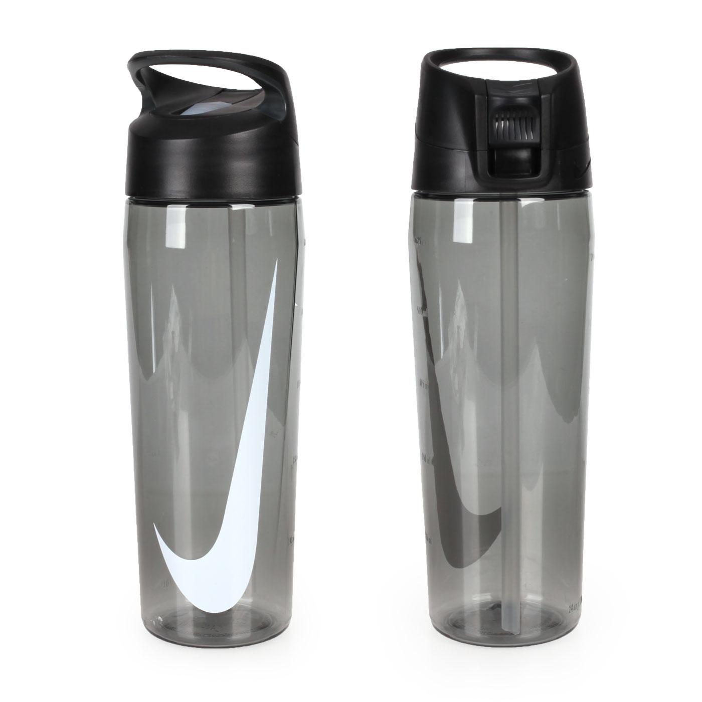 NIKE 24Z 吸管水壺 N000318402524 - 透明黑白