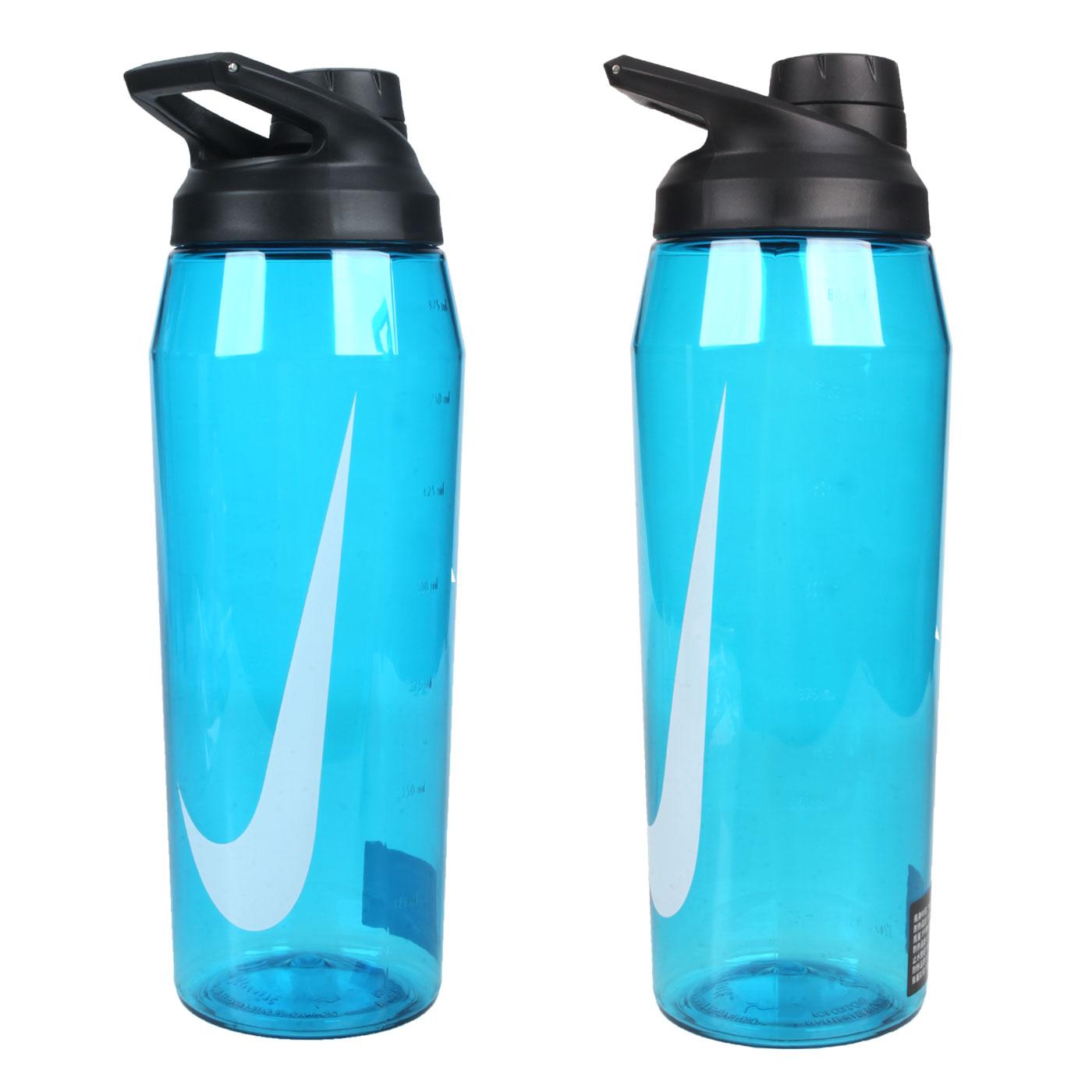 NIKE 32OZ 大口徑水壺 N100062302532 - 藍白