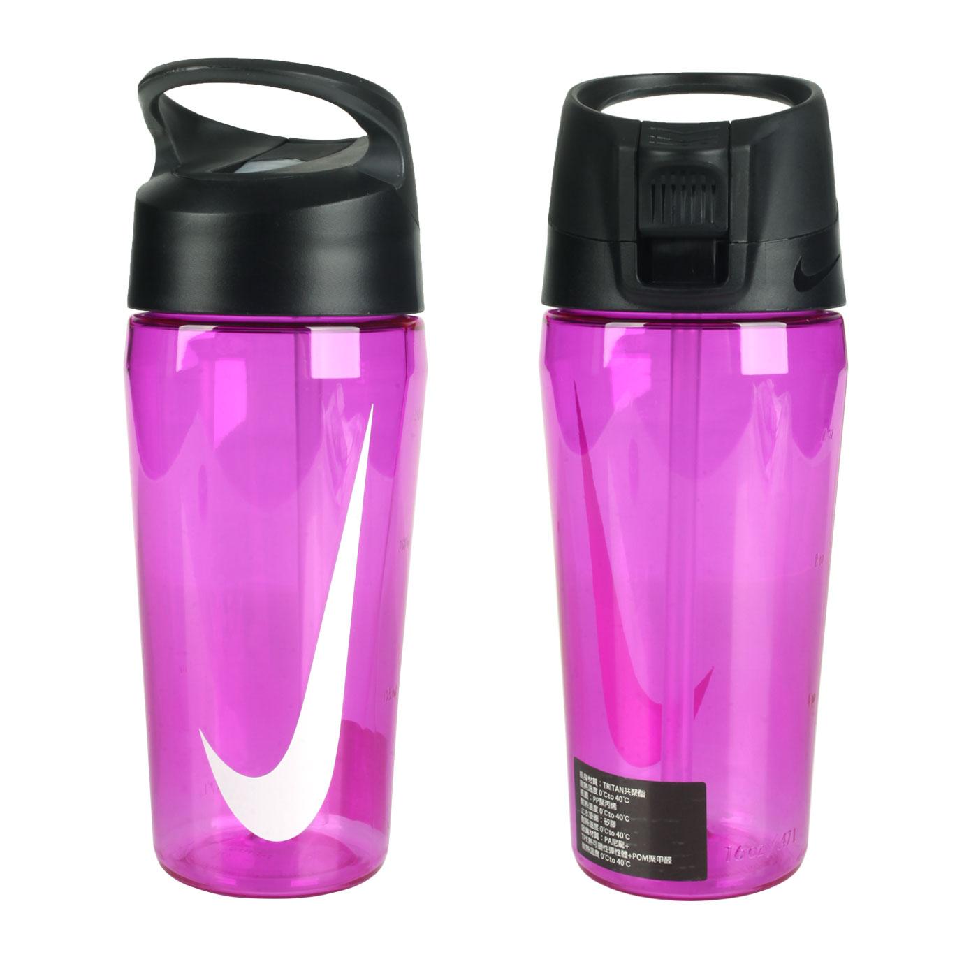NIKE 16OZ 吸管水壺 N100078502516 - 紫白