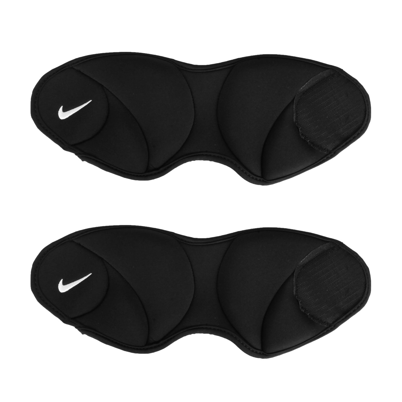 NIKE ANKLE WEIGHTS 2.5LB/1.1KG腳踝加重器 N1000814010OS - 黑白