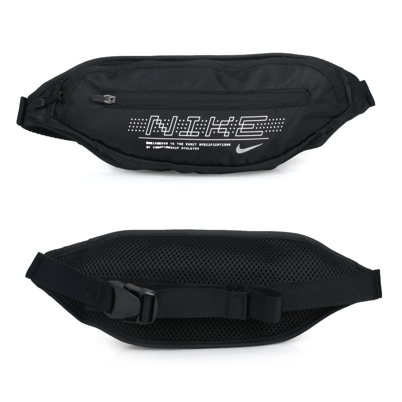 NIKE 印花腰包2.0 N1000825082OS - 黑白