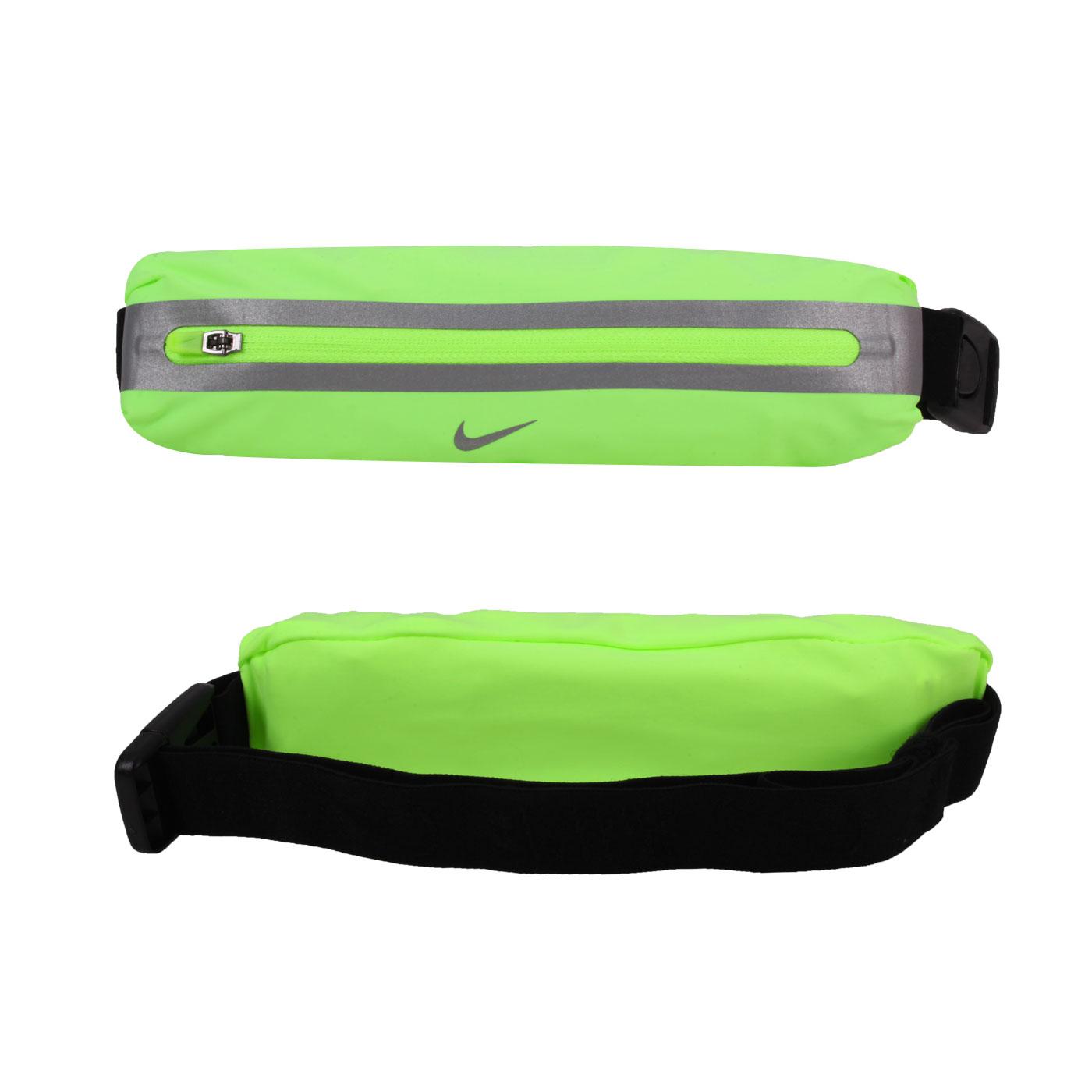 NIKE 擴充式薄型腰包2.0 N1000828342OS - 螢光綠銀