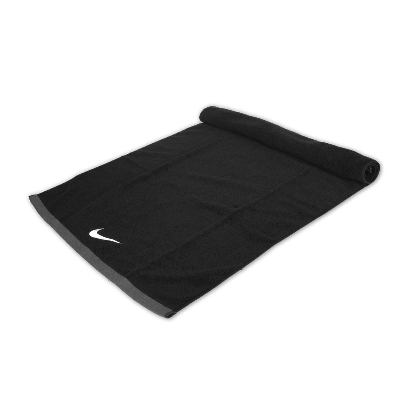 NIKE 運動大浴巾(60*120cm) N1001522010LG - 黑灰白