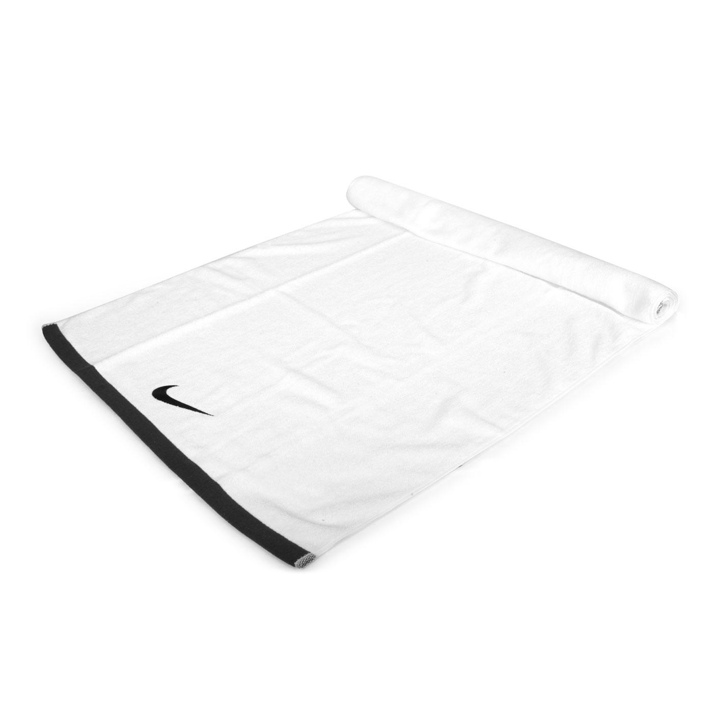 NIKE 運動大浴巾(60*120cm) N1001522010LG - 白灰黑