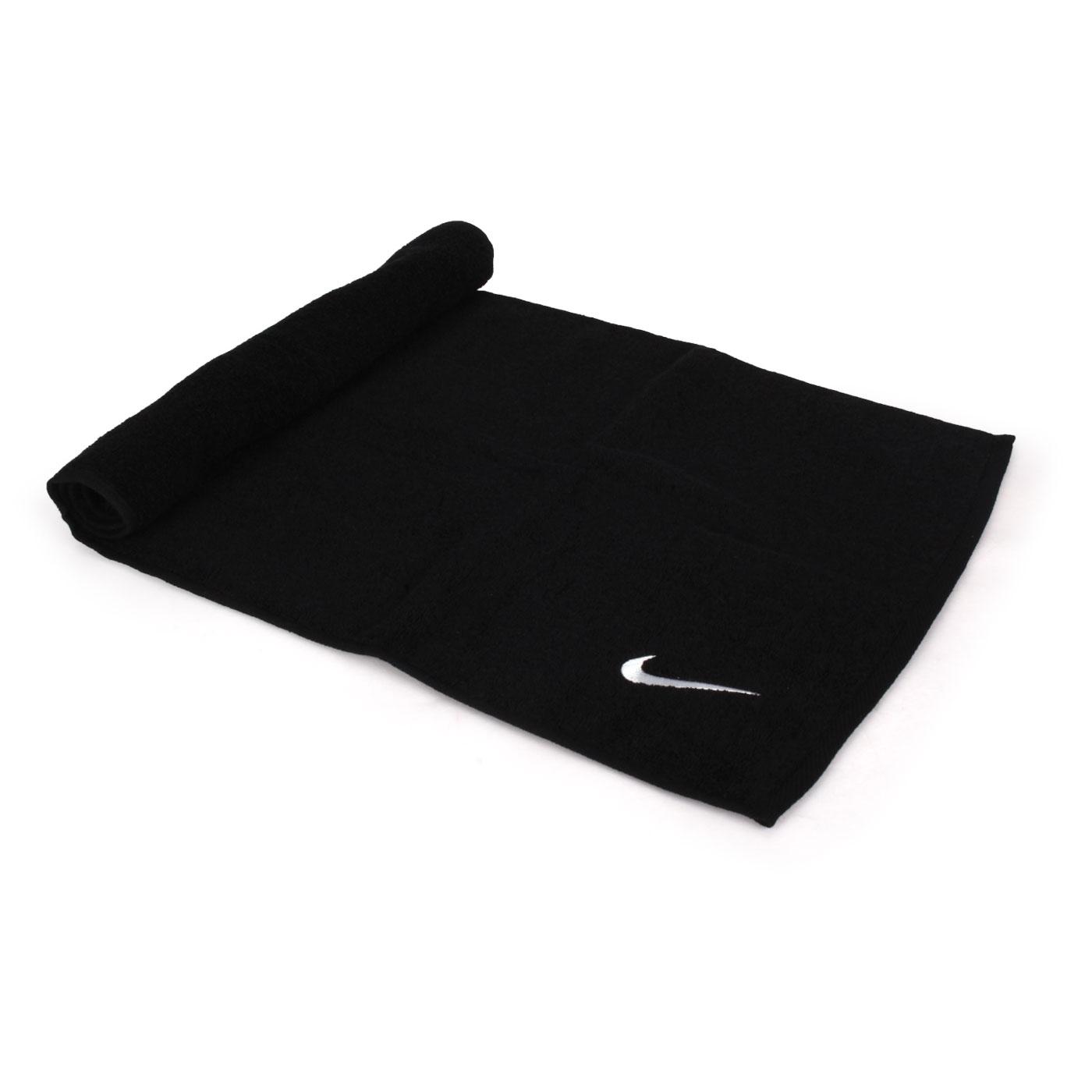 NIKE SOLID CORE長型毛巾 N1001540010NS - 黑白