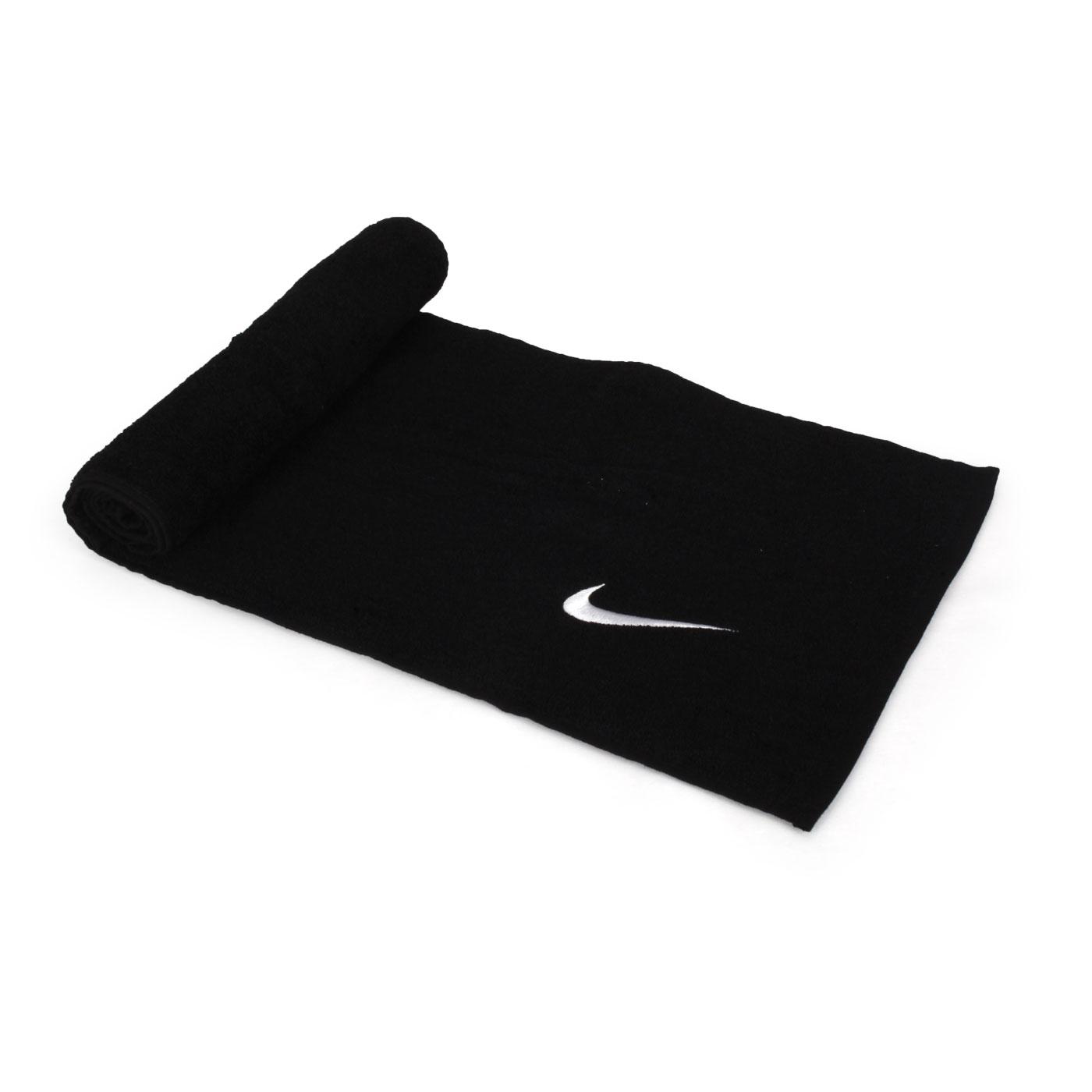 NIKE SOLID CORE毛巾(中) N1001541010NS - 黑白