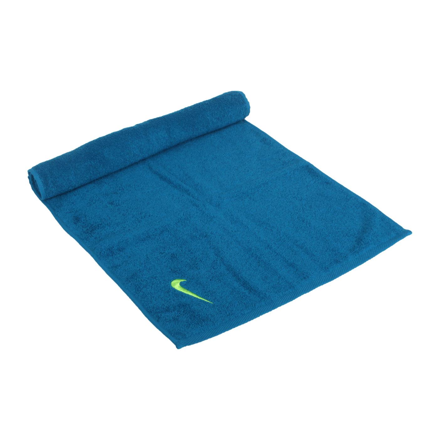 NIKE 毛巾(80*35cm) N1001541307NS - 藍綠