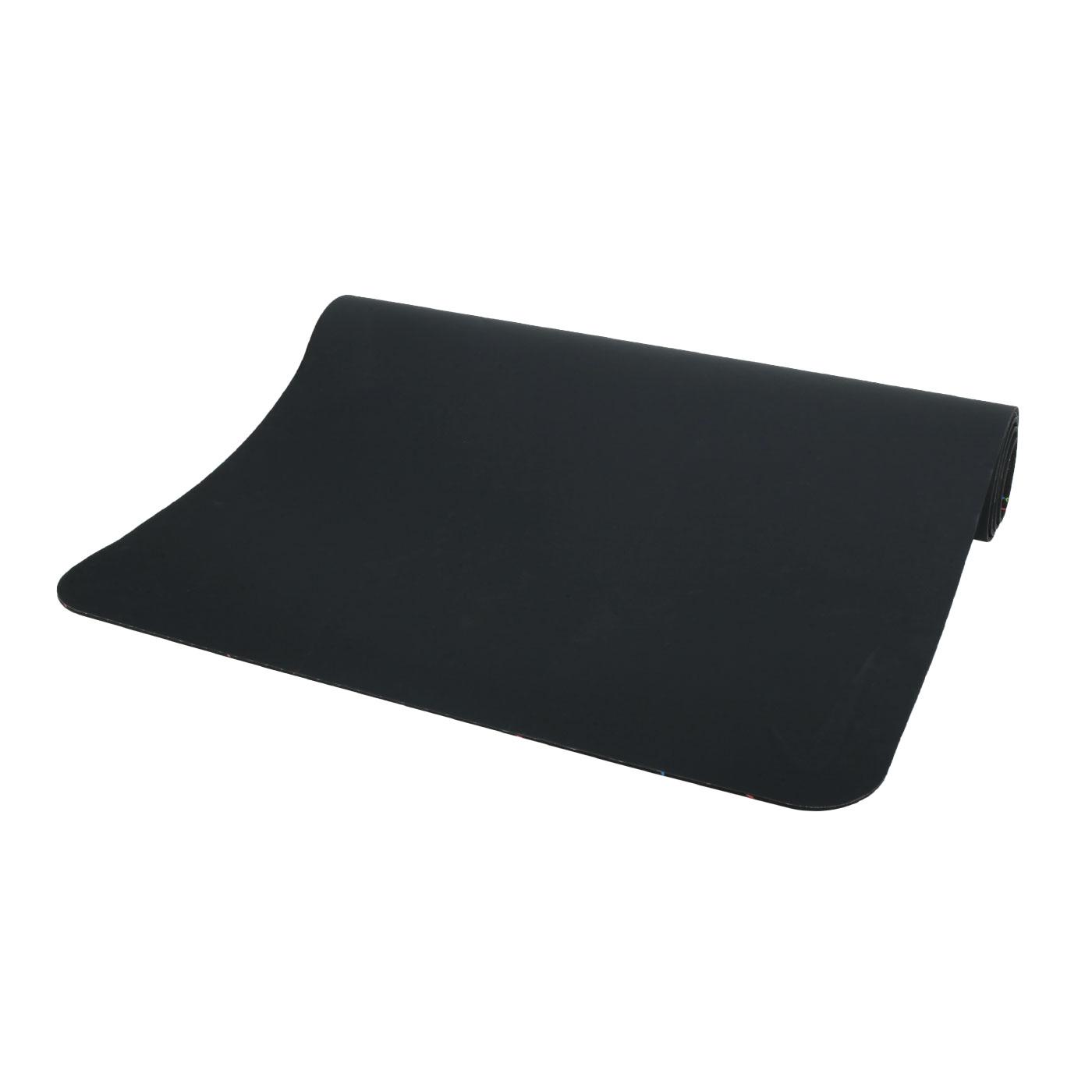 NIKE 5MM 瑜珈墊 180CM 45D N1001621001OS - 黑