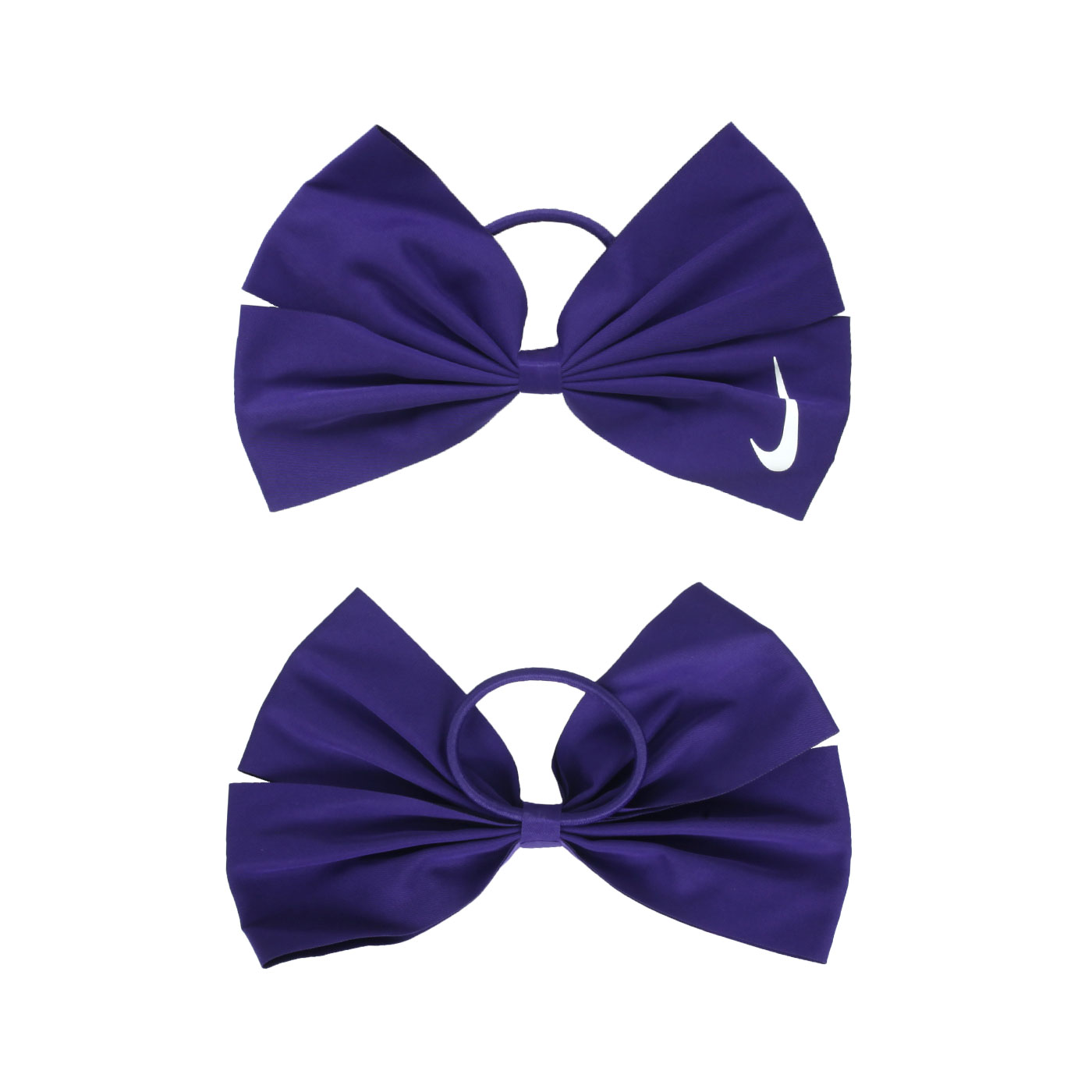 NIKE  BOW髮圈N1001764524OS - 紫白
