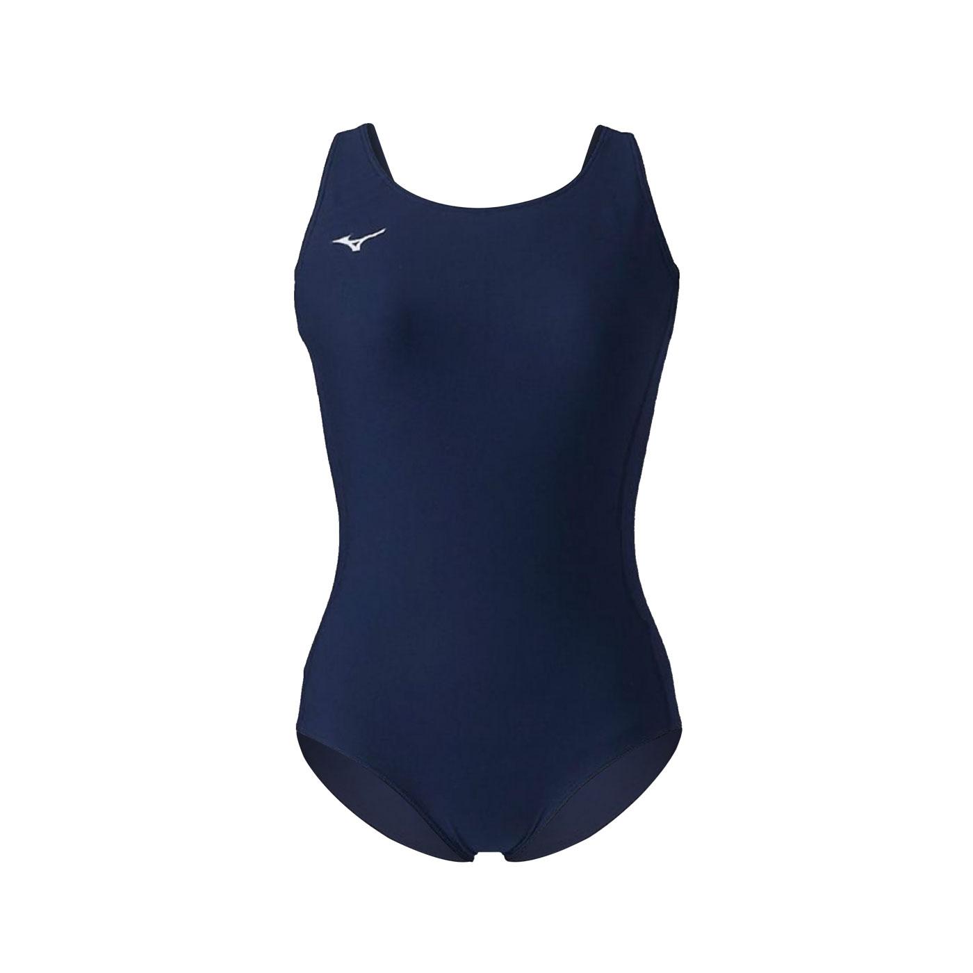 MIZUNO 女款連身泳衣  SWIMN2MA1C0114 - 丈青銀