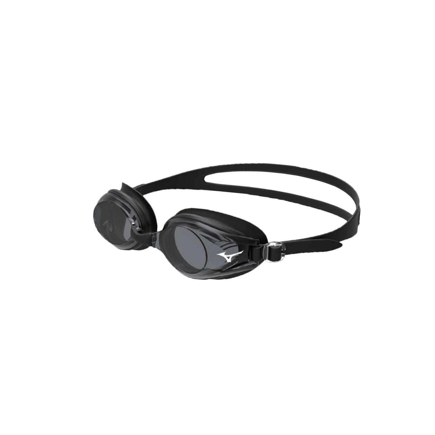 MIZUNO 日製-健康型墊片泳鏡  SWIMN3JE601000-09 - 黑白