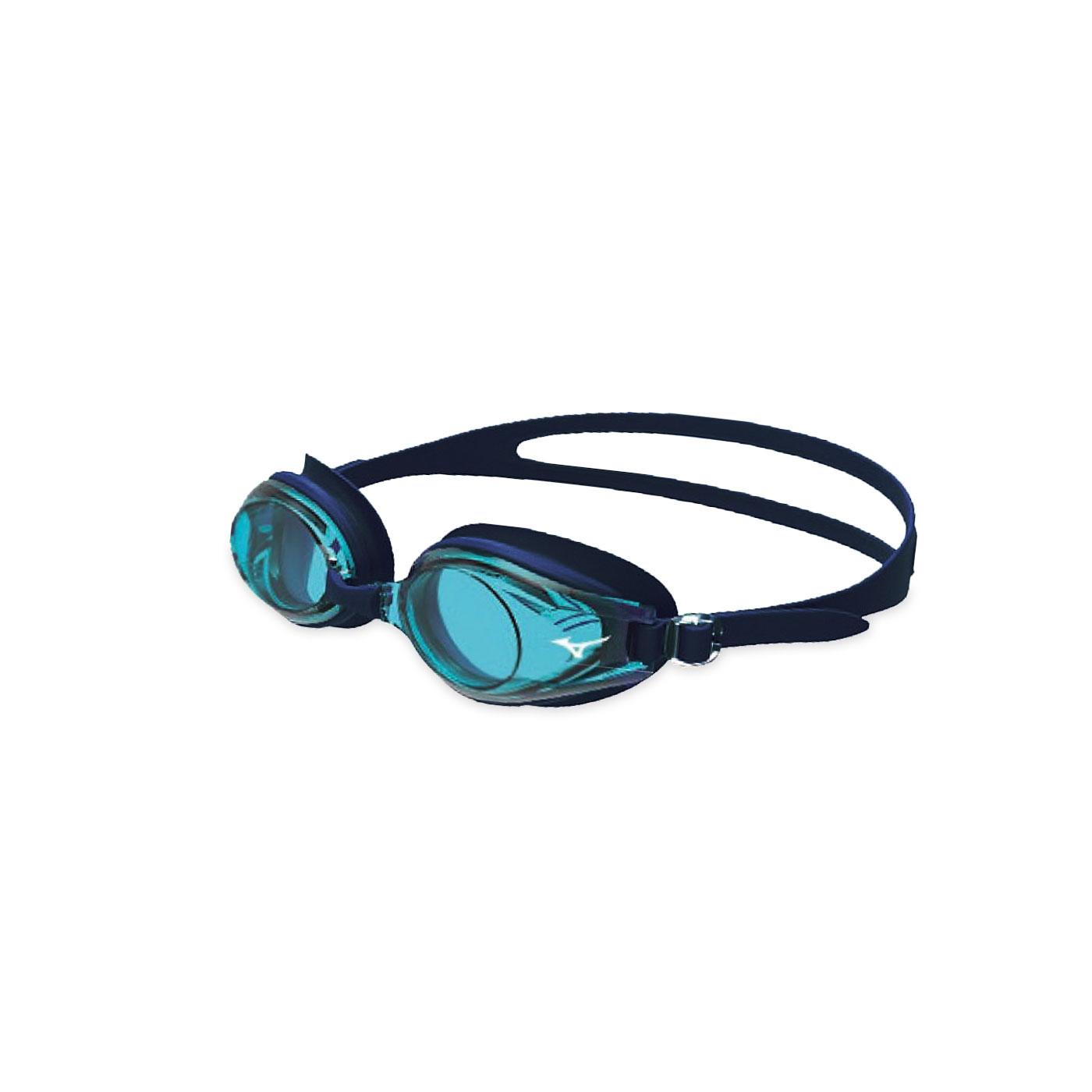 MIZUNO 日製-健康型墊片泳鏡  SWIMN3JE601000-09 - 水藍黑