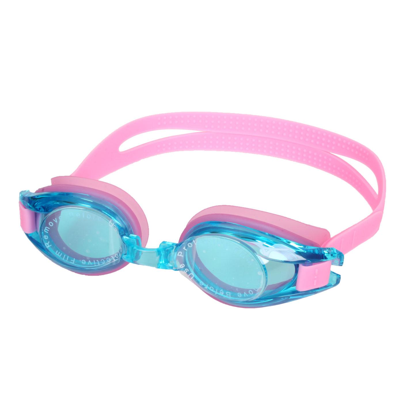 MIZUNO 兒童泳鏡  SWIMN3JF600000-63 - 透明藍粉紅