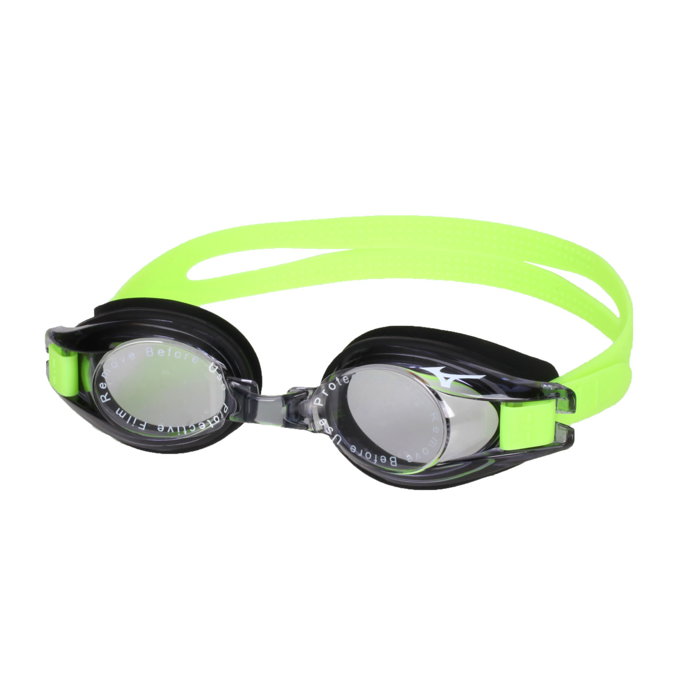 MIZUNO 兒童泳鏡  SWIMN3JF600000-93 - 黑螢光綠
