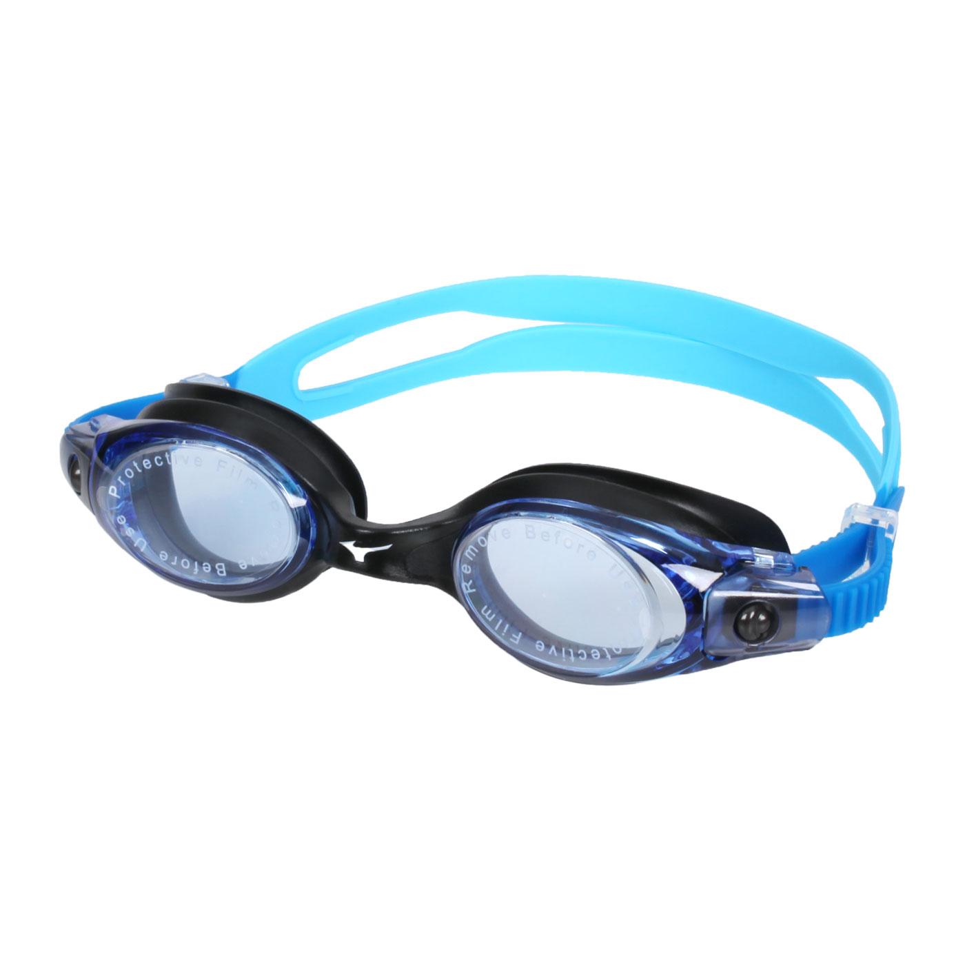 MIZUNO 泳鏡  SWIMN3TE701000-22 - 水藍黑
