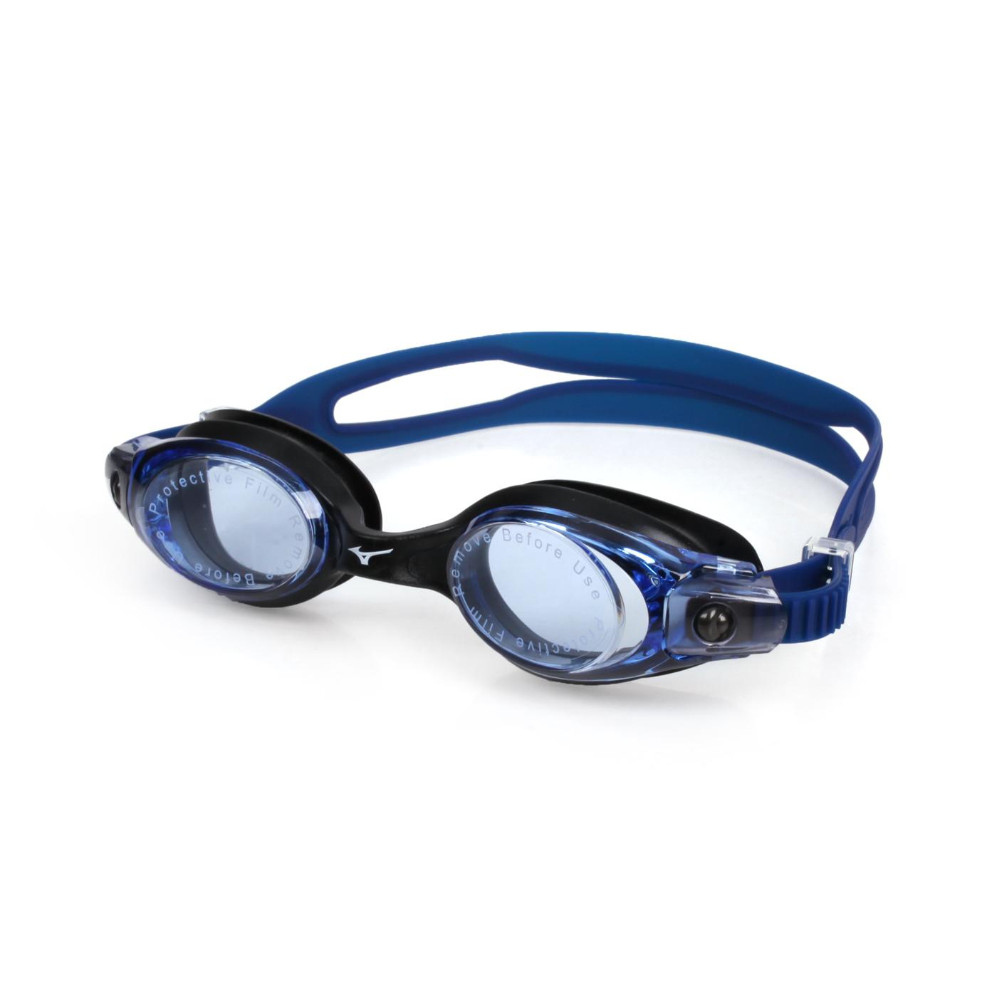MIZUNO 泳鏡  SWIMN3TE701000-01 - 黑白藍