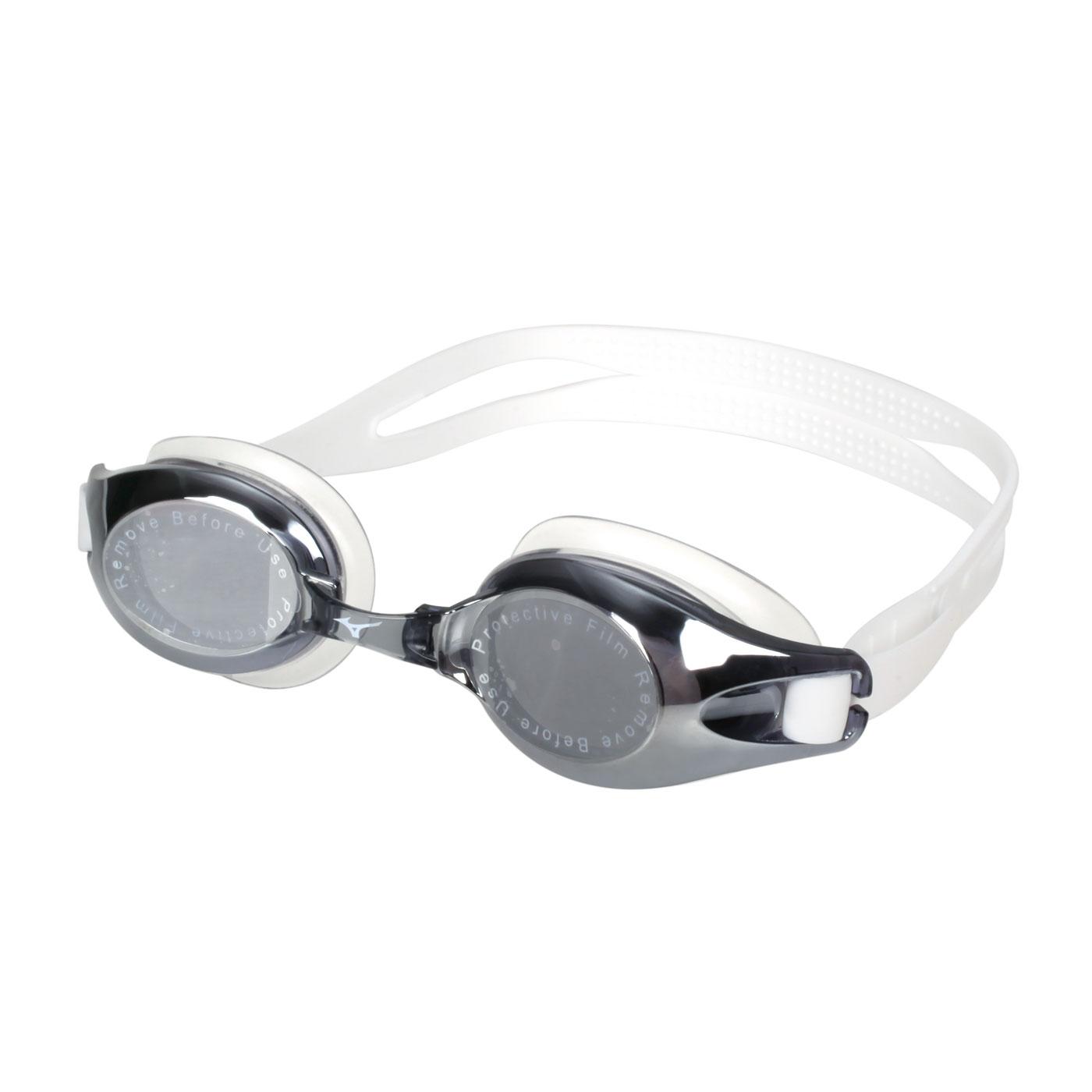 MIZUNO 泳鏡  SWIMN3TE702100-91 - 灰白