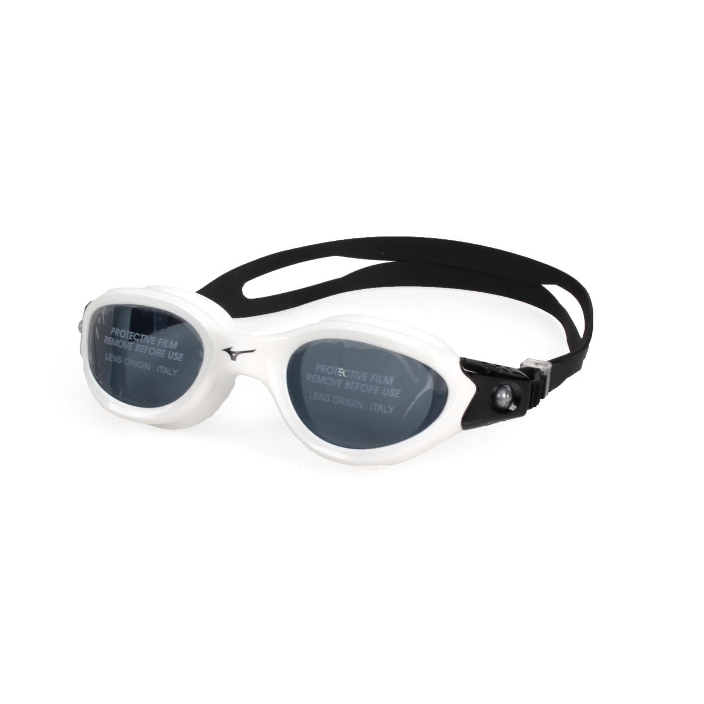 MIZUNO 泳鏡  SWIMN3TE800900-01 - 白黑