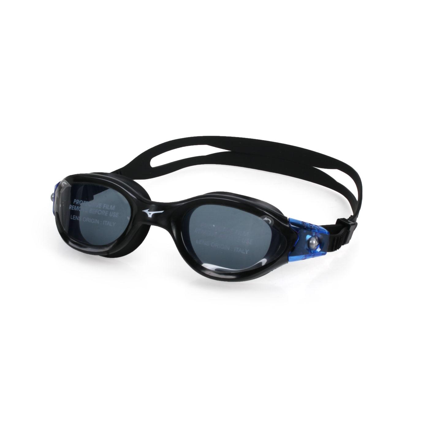 MIZUNO 泳鏡  SWIMN3TE800900-01 - 黑藍