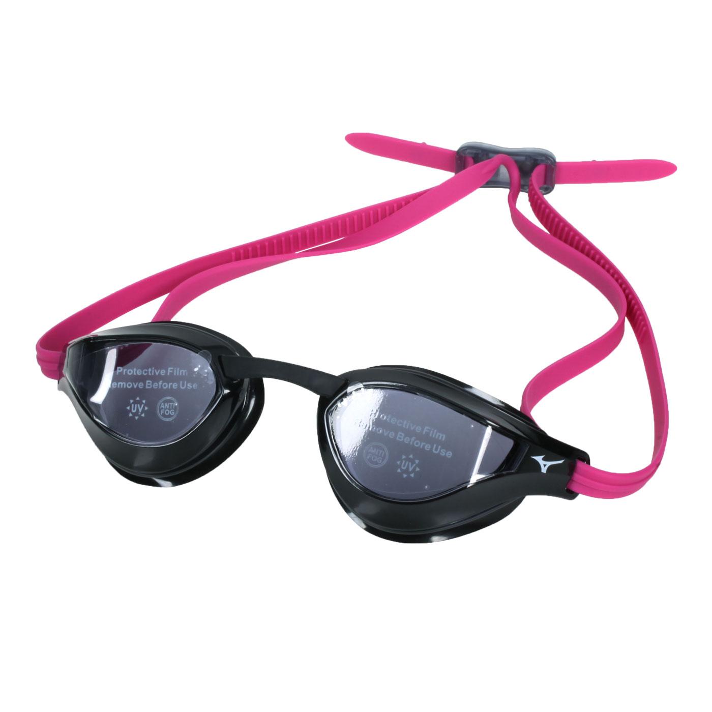 MIZUNO 泳鏡  SWIMN3TE951000-68 - 黑桃紅