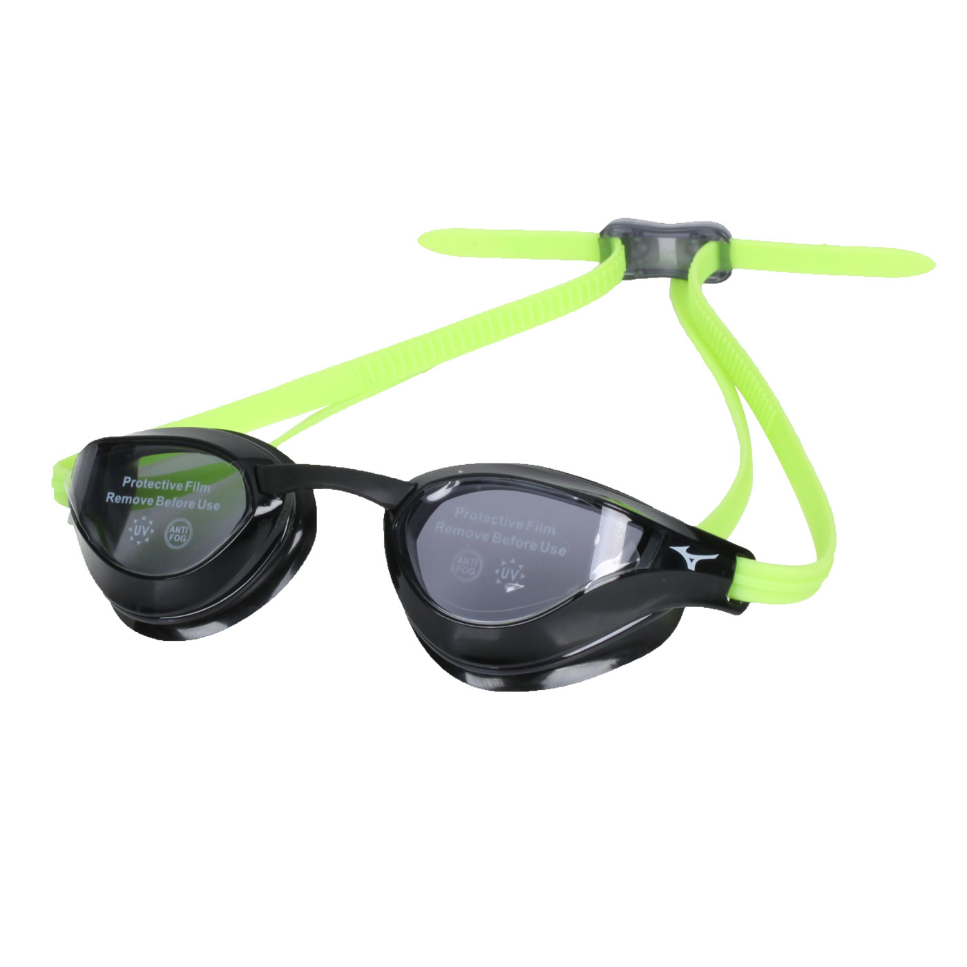 MIZUNO 泳鏡 N3TE951000-93 - 黑螢光綠