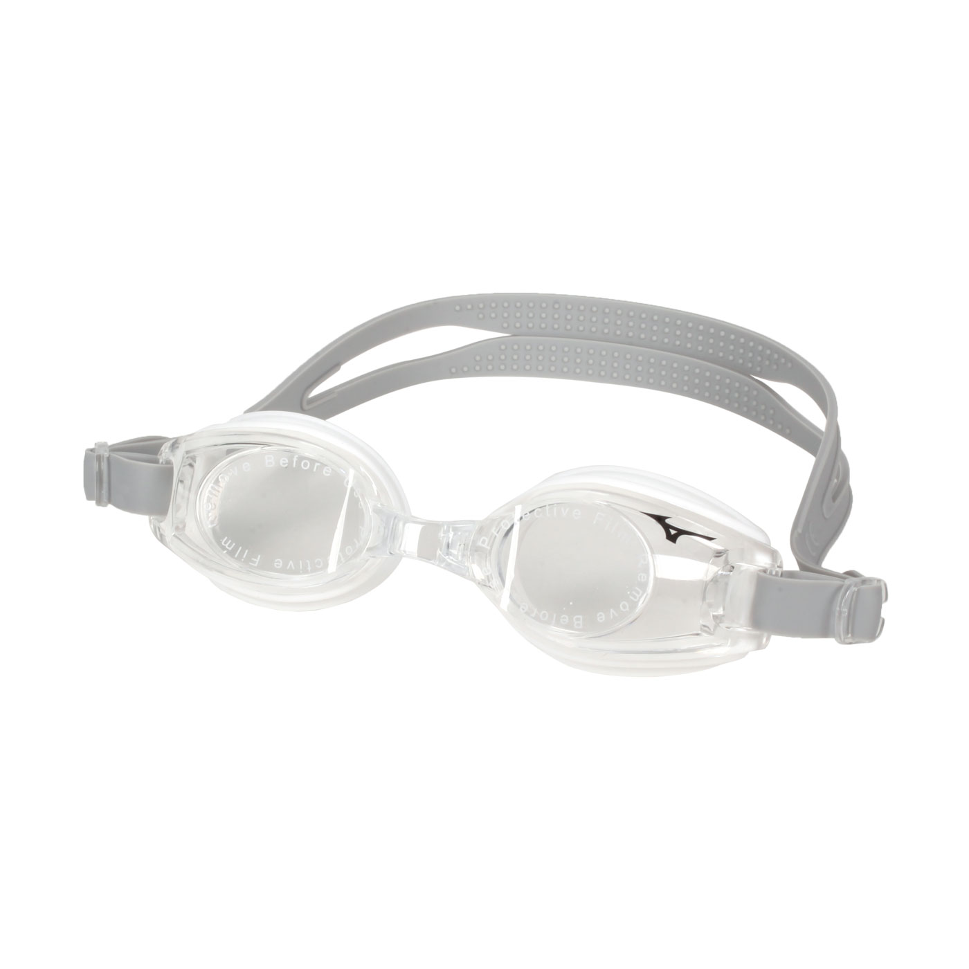 MIZUNO 兒童泳鏡  SWIMN3TF059500-91 - 灰透明白
