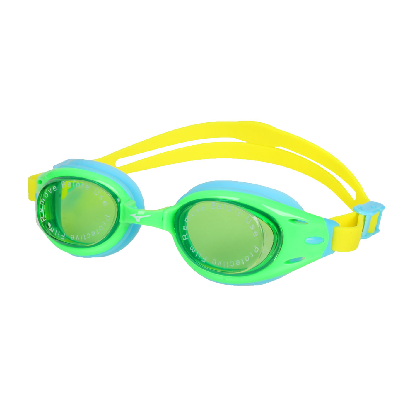 MIZUNO 兒童泳鏡  SWIMN3TF105000-37 - 水藍綠黃