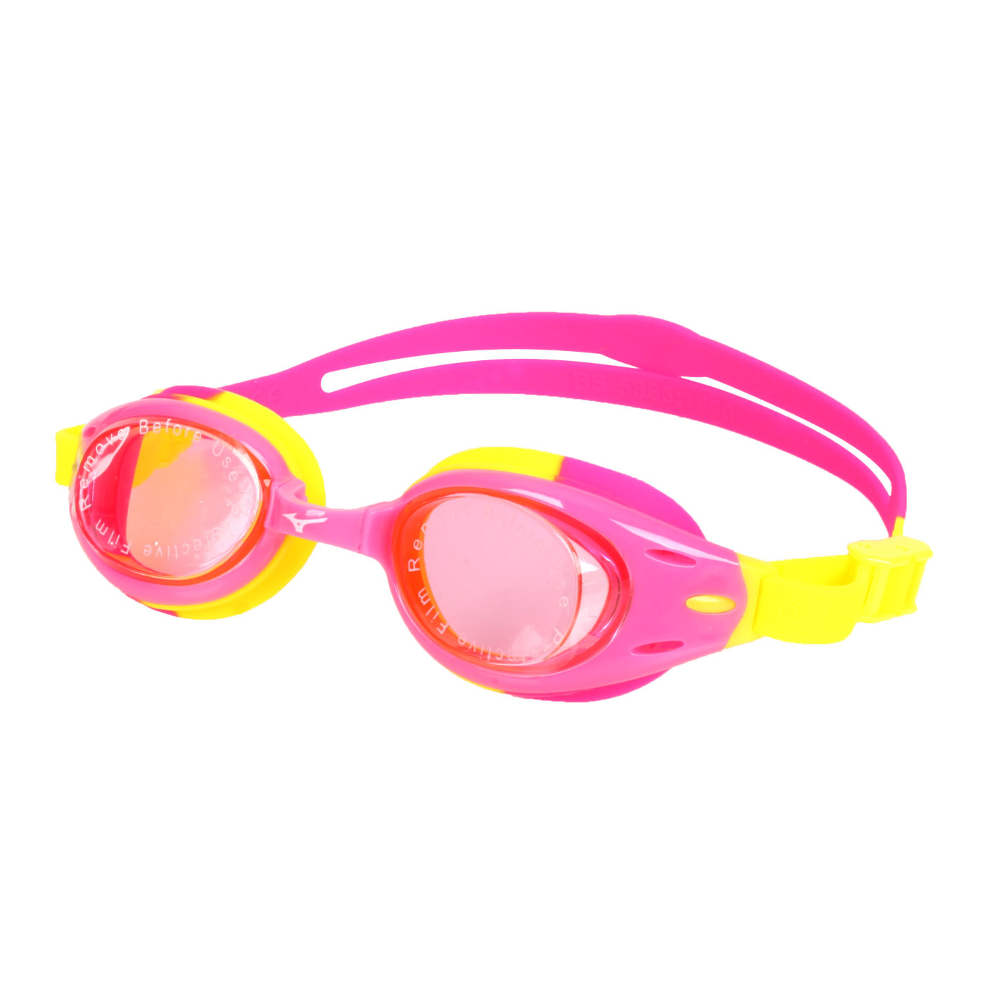 MIZUNO 兒童泳鏡  SWIMN3TF105000-64 - 桃紅黃