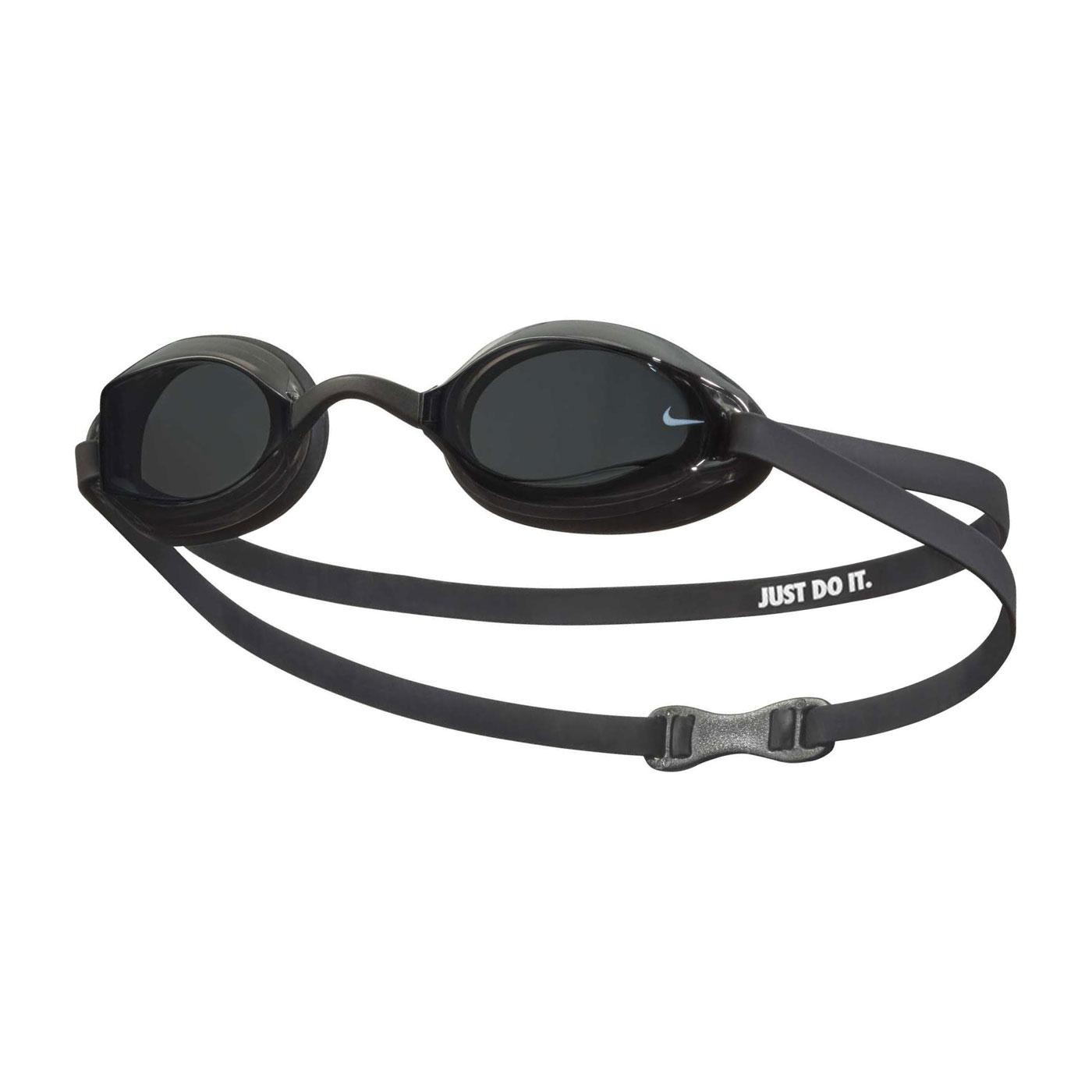 NIKE SWIM 成人專業型泳鏡 NESSA179-014 - 黑白