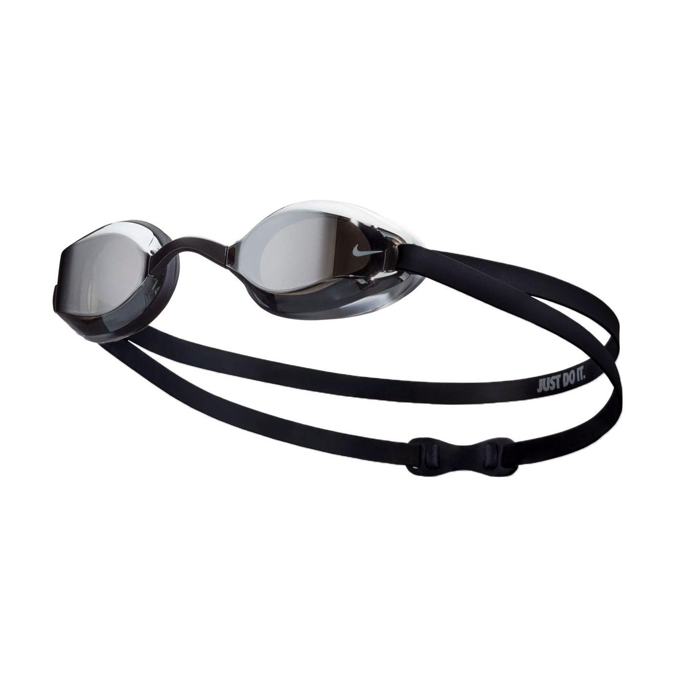 NIKE SWIM 兒童專業型泳鏡 NESSA180-040 - 黑白灰