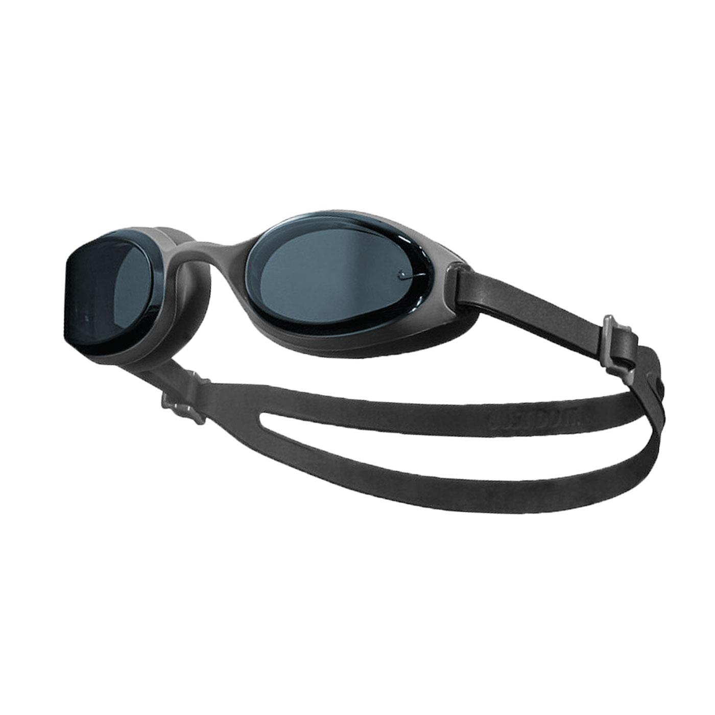 NIKE SWIM 成人訓練型泳鏡 NESSA182-014 - 灰黑