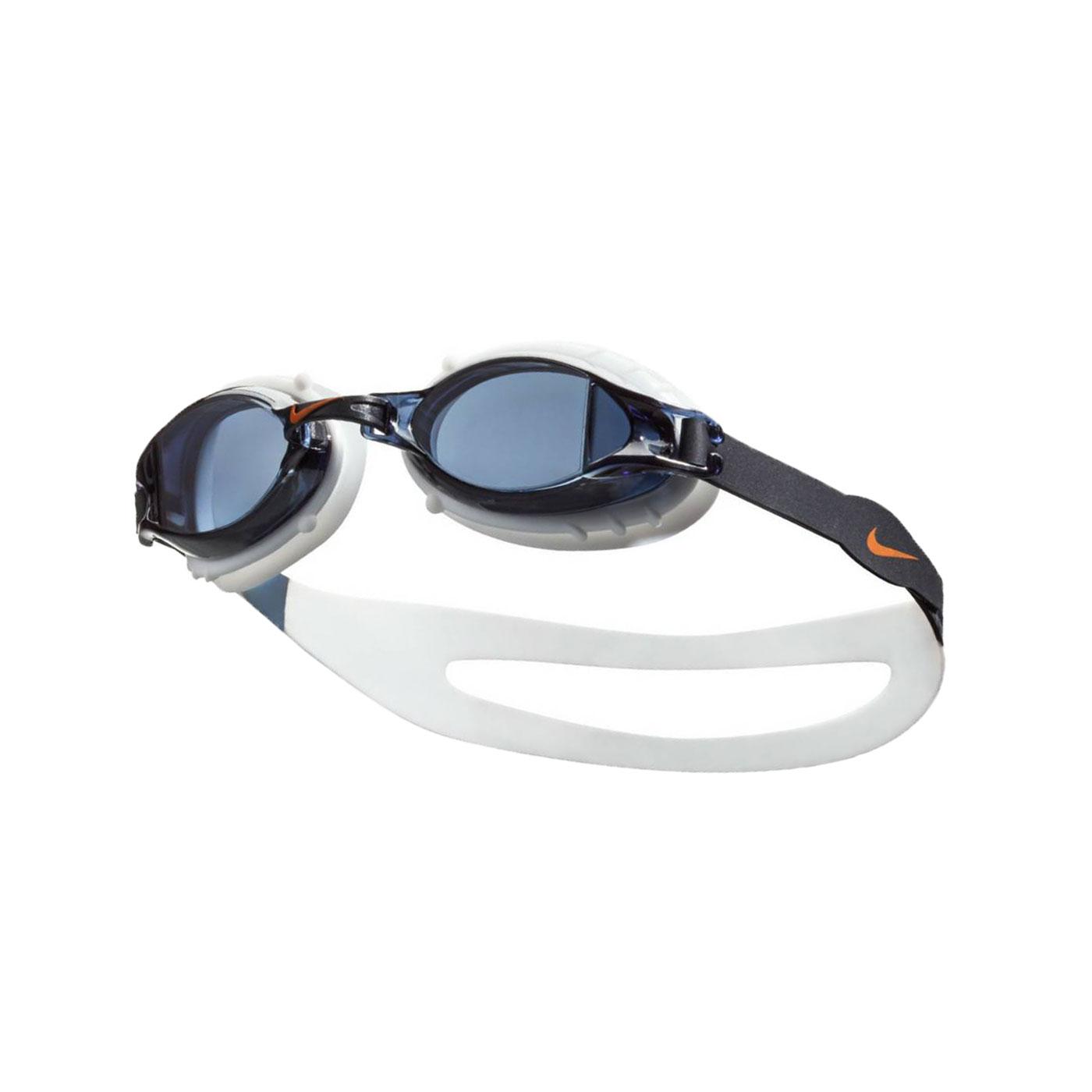 NIKE SWIM 訓練型兒童泳鏡 NESSA188-014 - 白黑橘