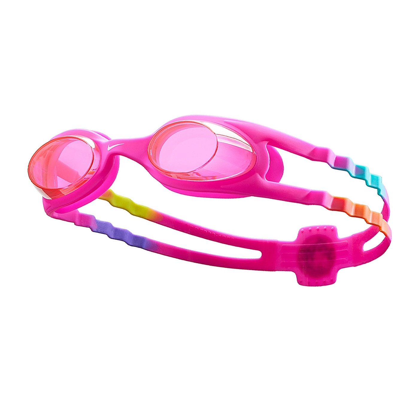 NIKE SWIM 兒童休閒泳鏡 NESSB166-656 - 桃紅白