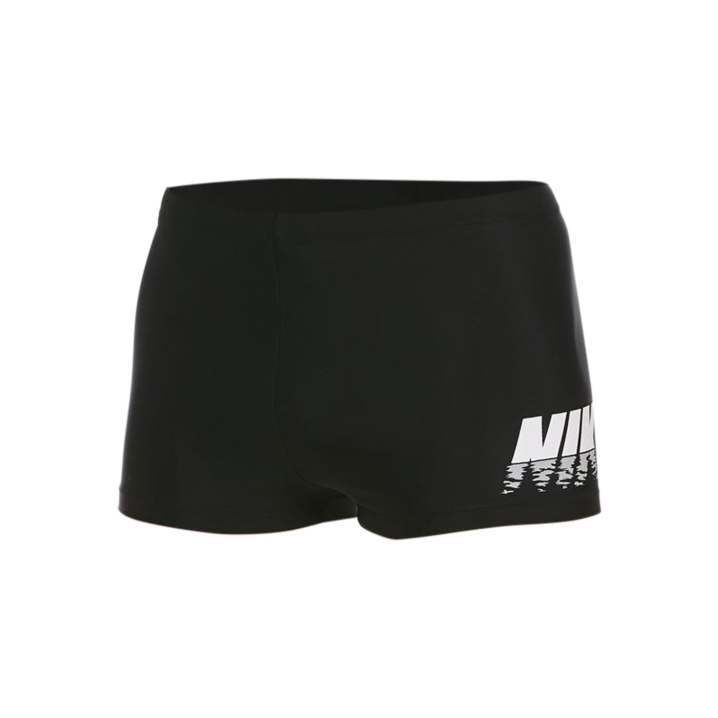 NIKE SWIM 成人男性四角泳褲 NESSB566-001 - 黑灰白