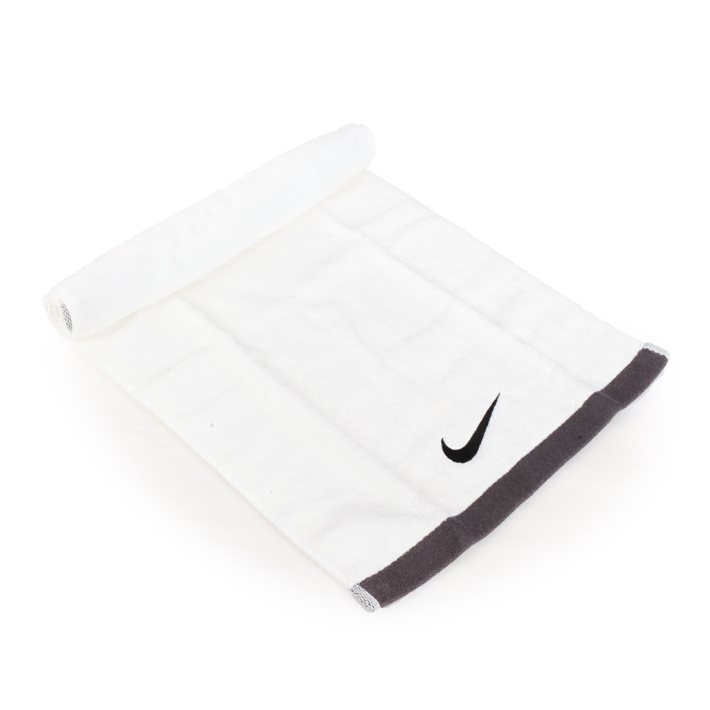 NIKE 運動毛巾 NET17101MD - 白黑