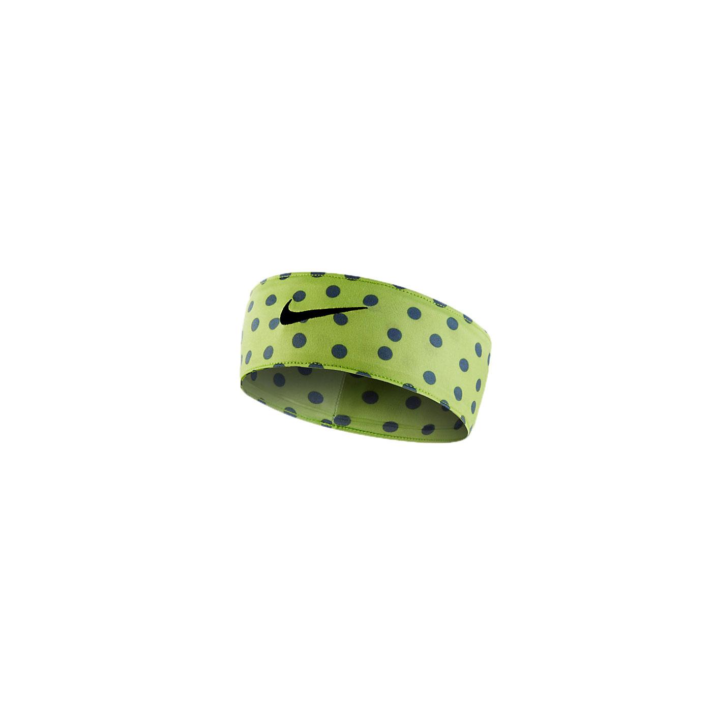 NIKE 頭帶 NJN69010OS - 綠黑
