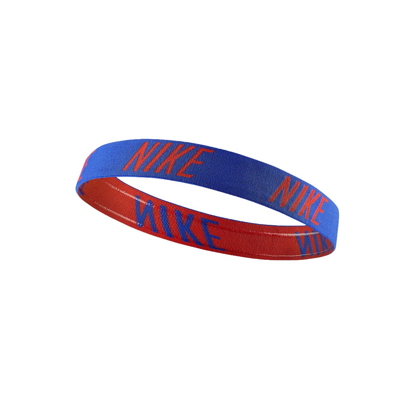 NIKE LOGO髮帶 NJNF6412OS - 藍紅