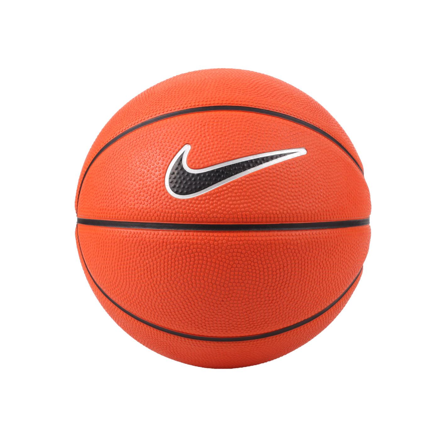 NIKE SWOOSH MINI 3號籃球 NKI0887903 - 橘黑