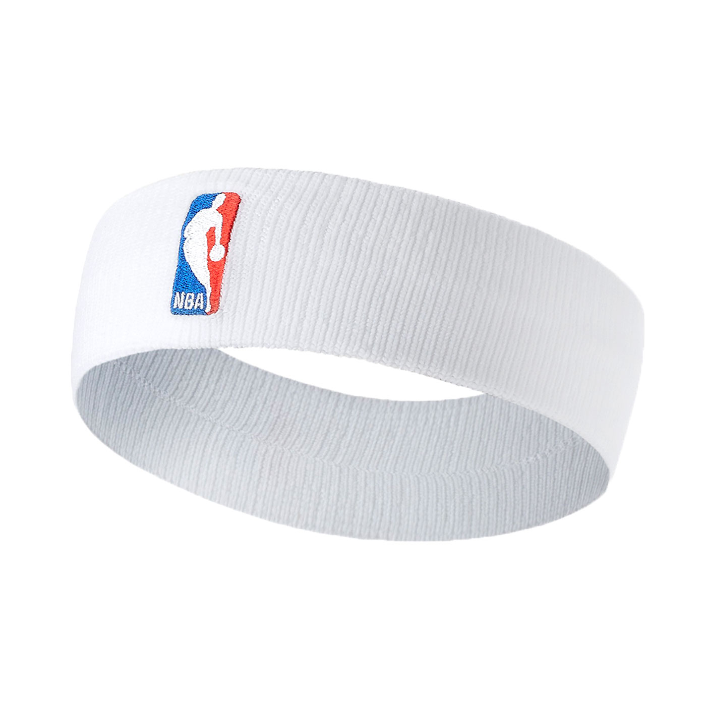 NIKE NBA DRI-FIT 單色頭帶(客場) NKN02100OS - 白紅藍