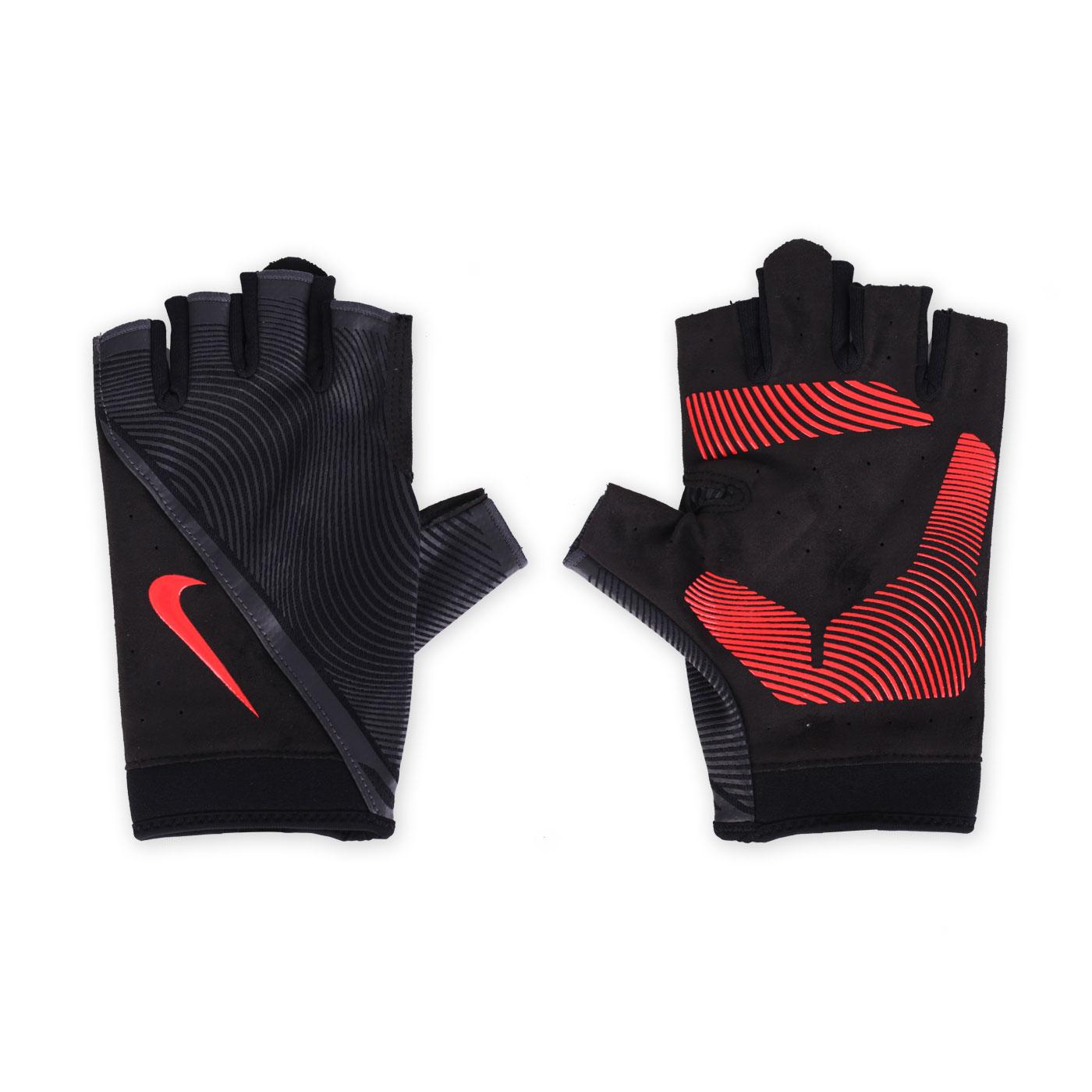 NIKE 男用動態訓練手套 NLGB6053MD - 黑橘紅