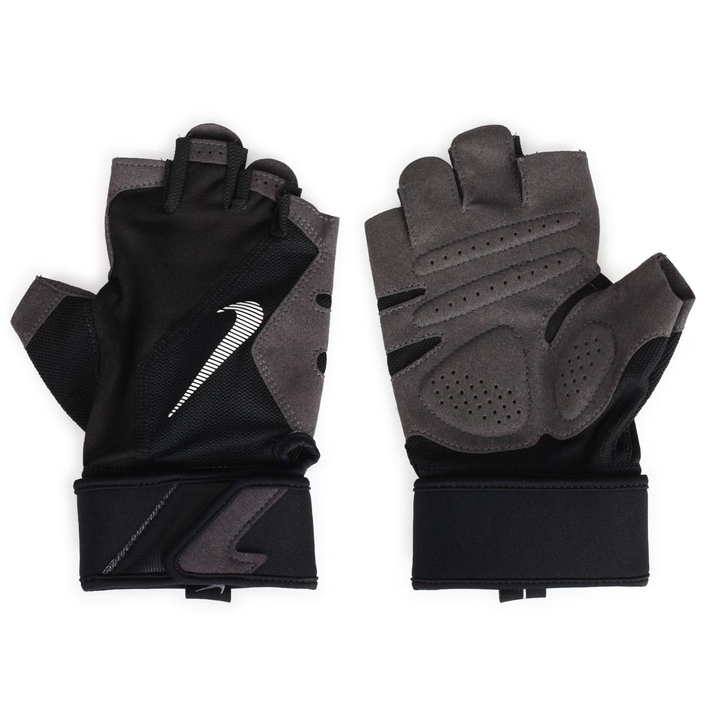 NIKE PREMIUM 健身高階手套 NLGC1083XL - 黑灰白綠