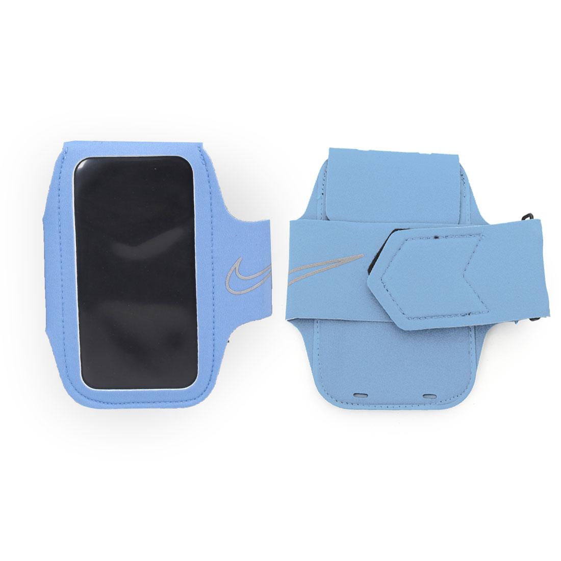 NIKE 輕量萬用臂包2.0  NRN43001OS - 淺藍銀