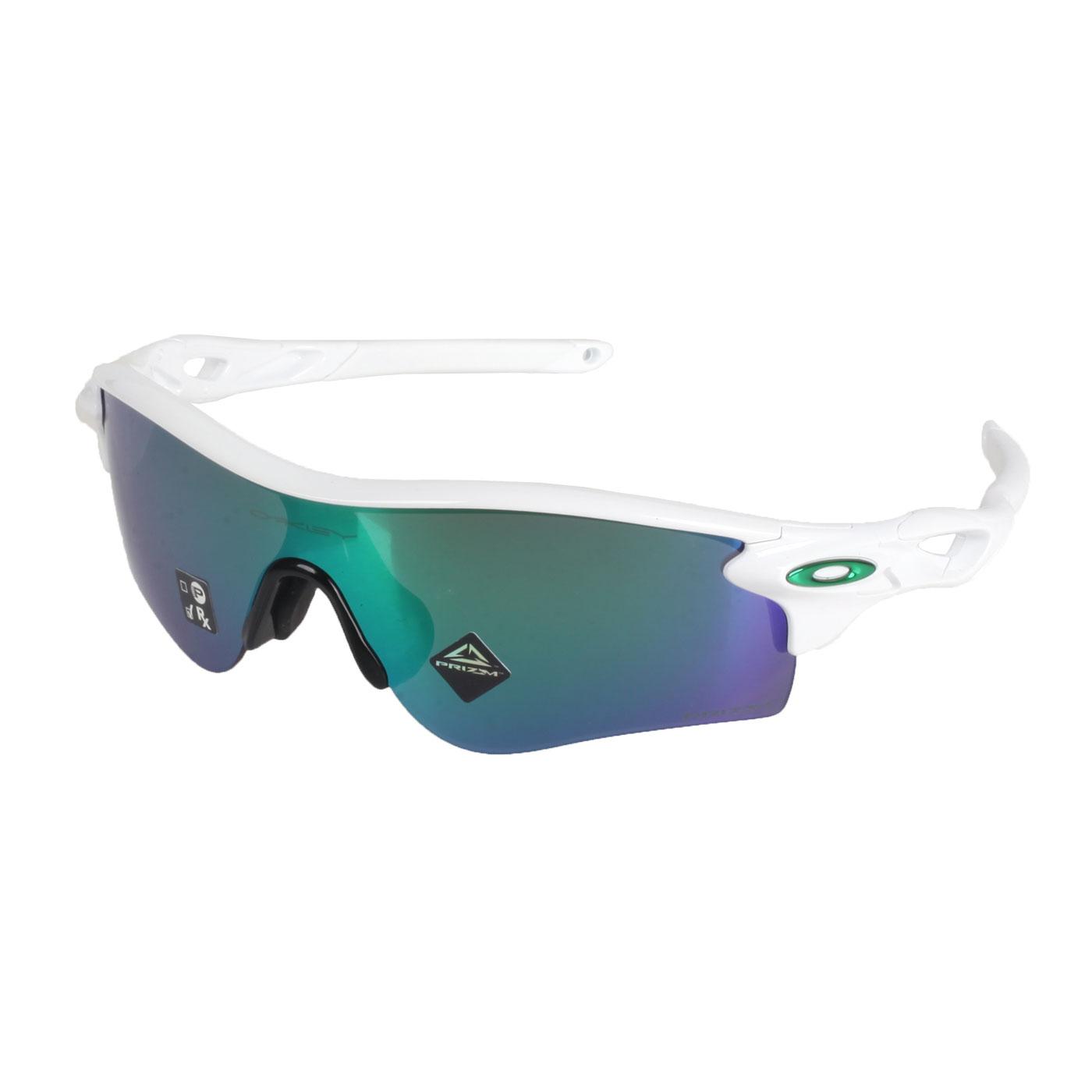 OAKLEY RADARLOCK PATH 一般太陽眼鏡(附硬盒鼻墊) OAK-OO9206-4338 - 白綠