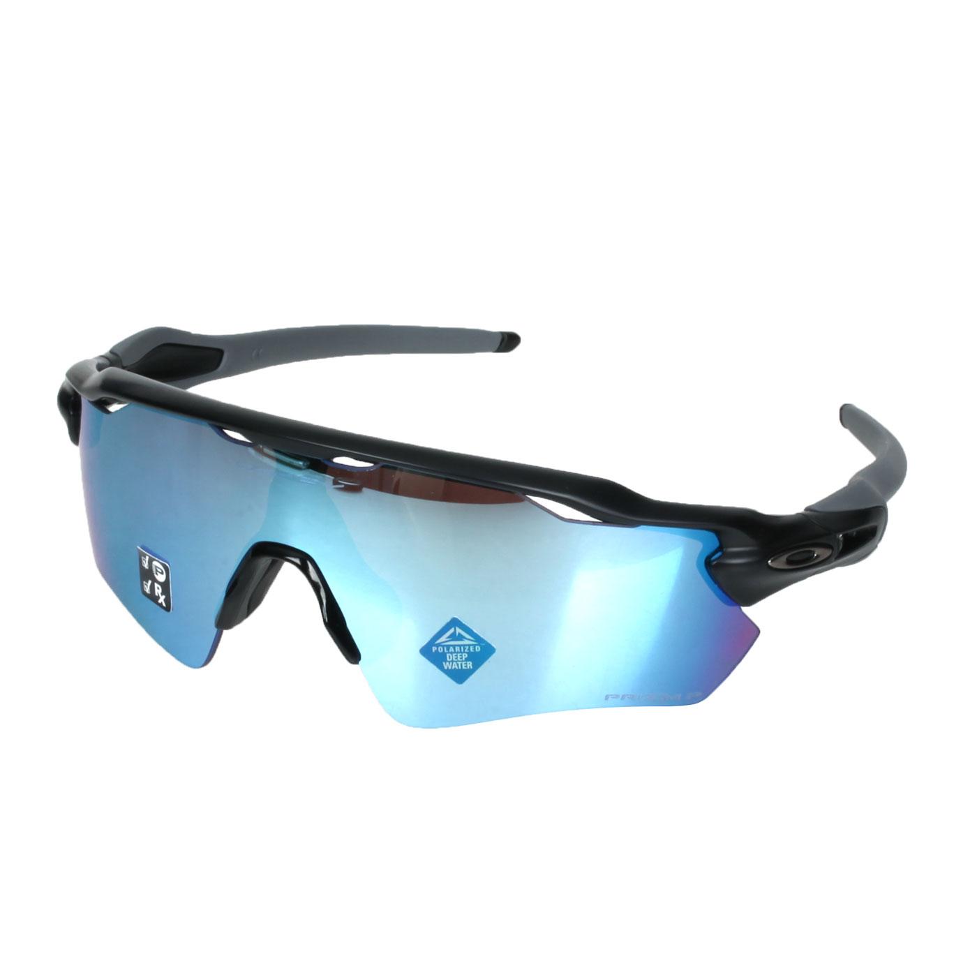 OAKLEY RADAR EV PATH 偏光太陽眼鏡(附硬盒鼻墊) OAK-OO9208-5538 - 黑灰藍