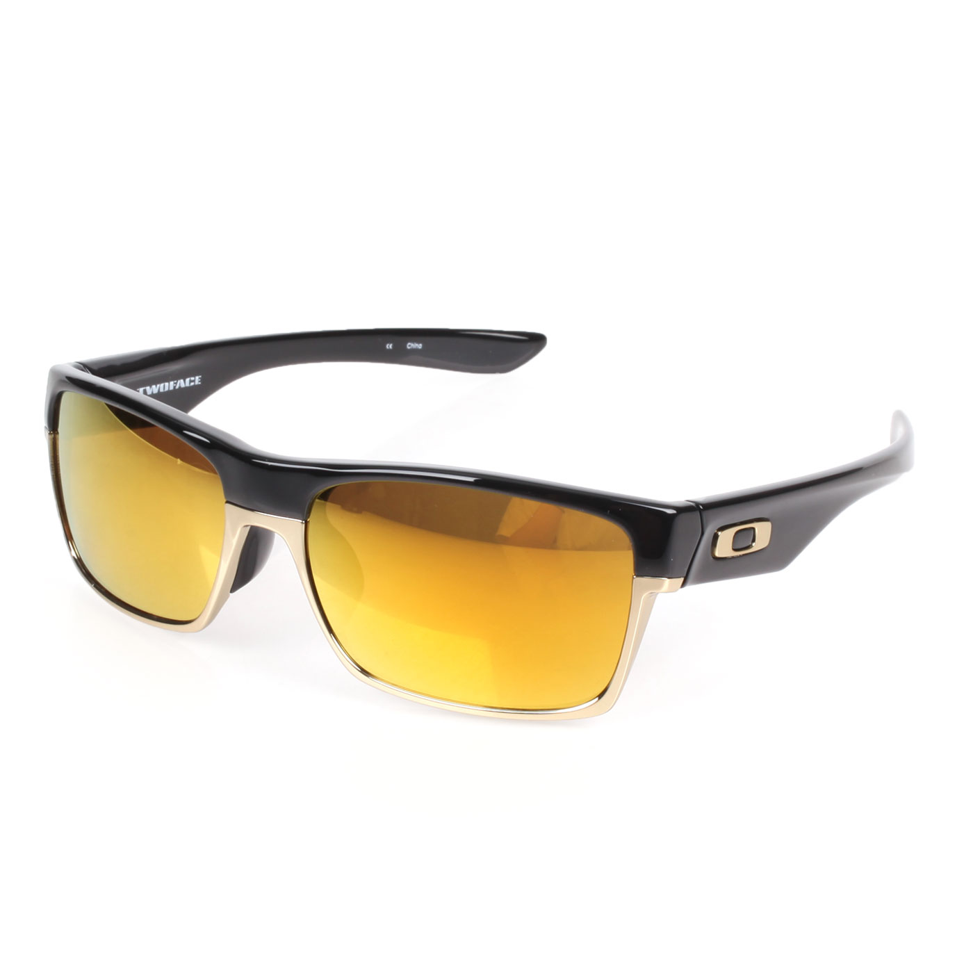 OAKLEY Two Face一般太陽眼鏡(附鏡袋無鼻墊) OAK-OO9256-10 - 黑金