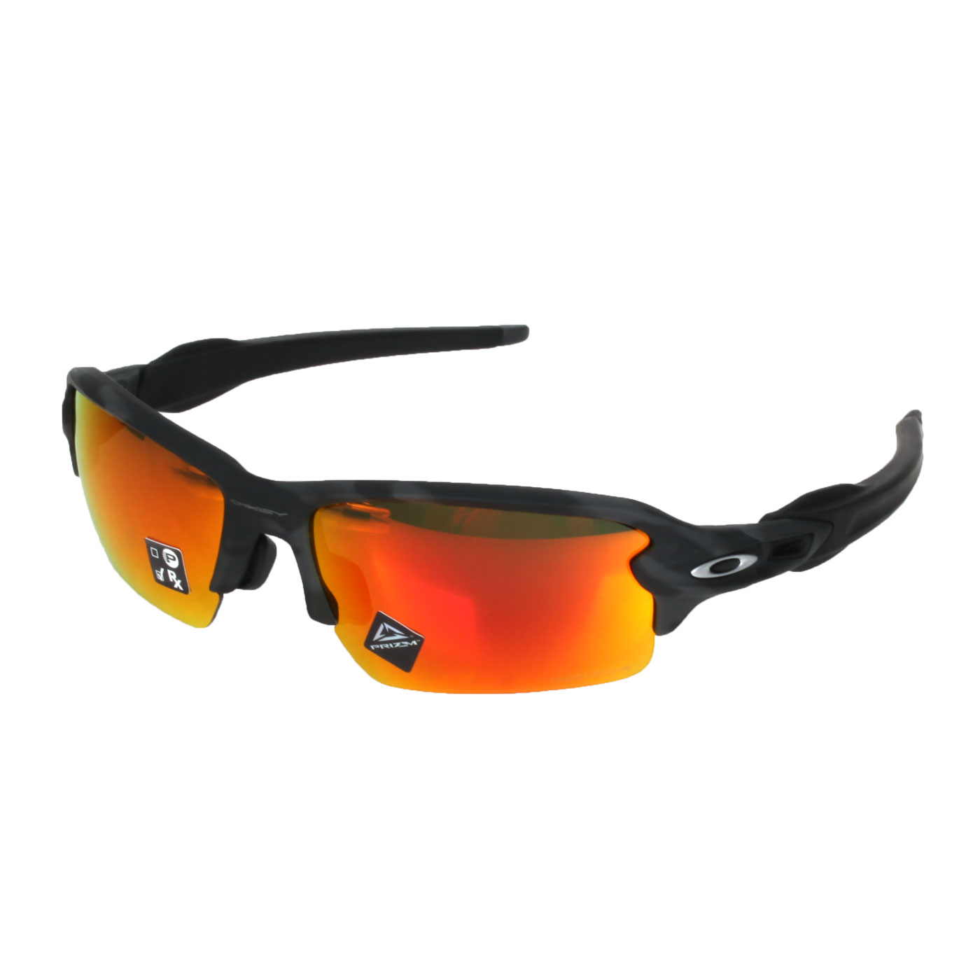 OAKLEY FLAK 2.0一般太陽眼鏡(附硬盒鼻墊) OAK-OO9271-2761 - 黑灰橘紅