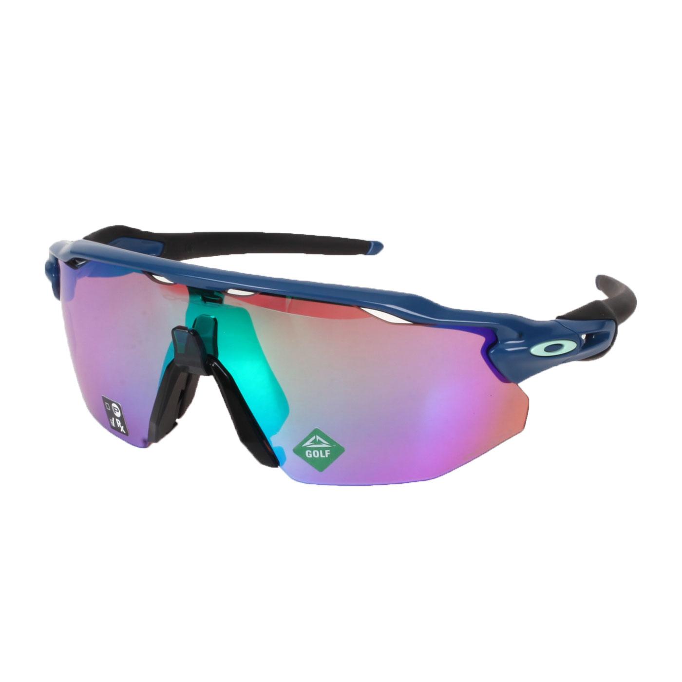 OAKLEY RADAR EV ADVANCER一般太陽眼鏡(附硬盒鼻墊) OAK-OO9442-0738 - 藍黑