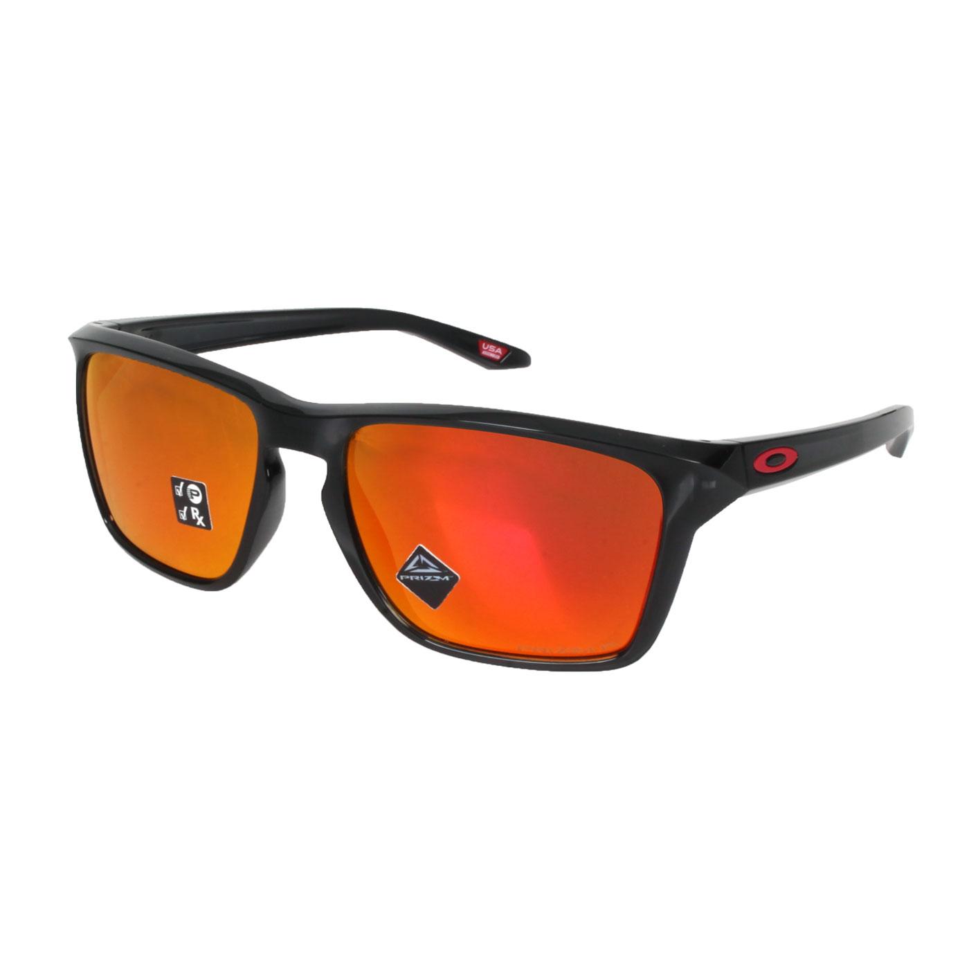 OAKLEY SYLAS 一般太陽眼鏡 OAK-OO9448-0557 - 黑紅