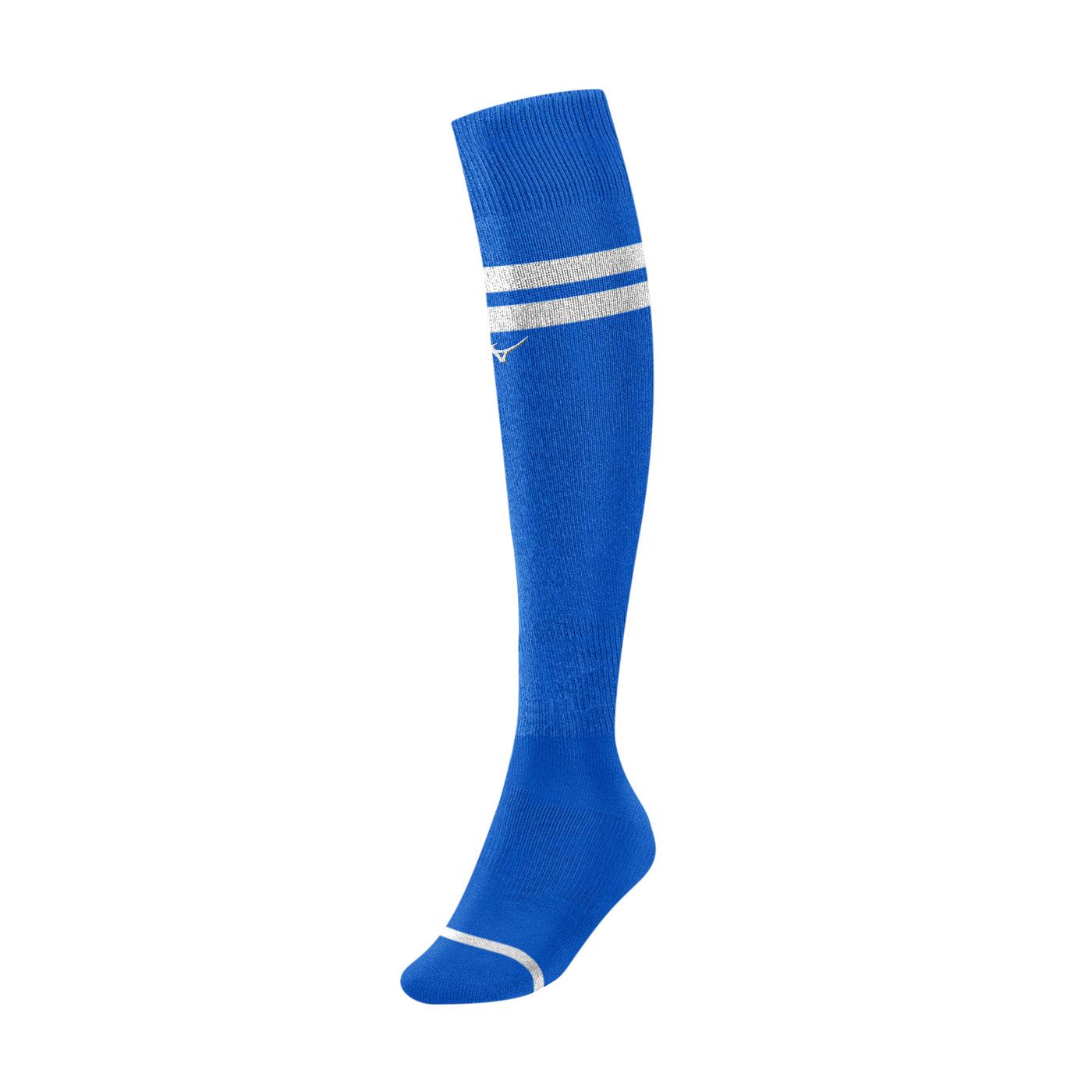 MIZUNO 足橄襪 P2TX0A0122 - 藍白