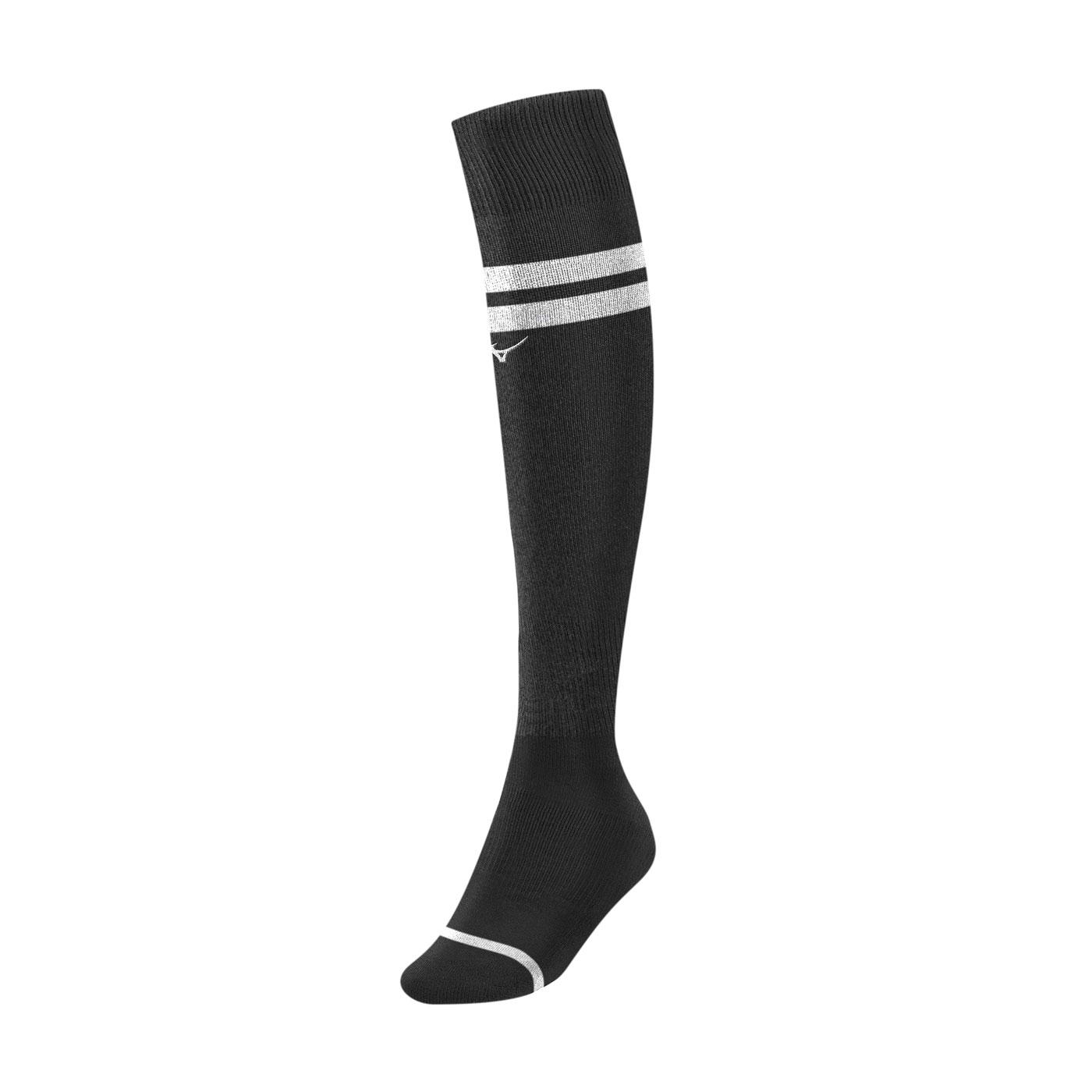 MIZUNO 足橄襪 P2TX0A0191 - 黑白